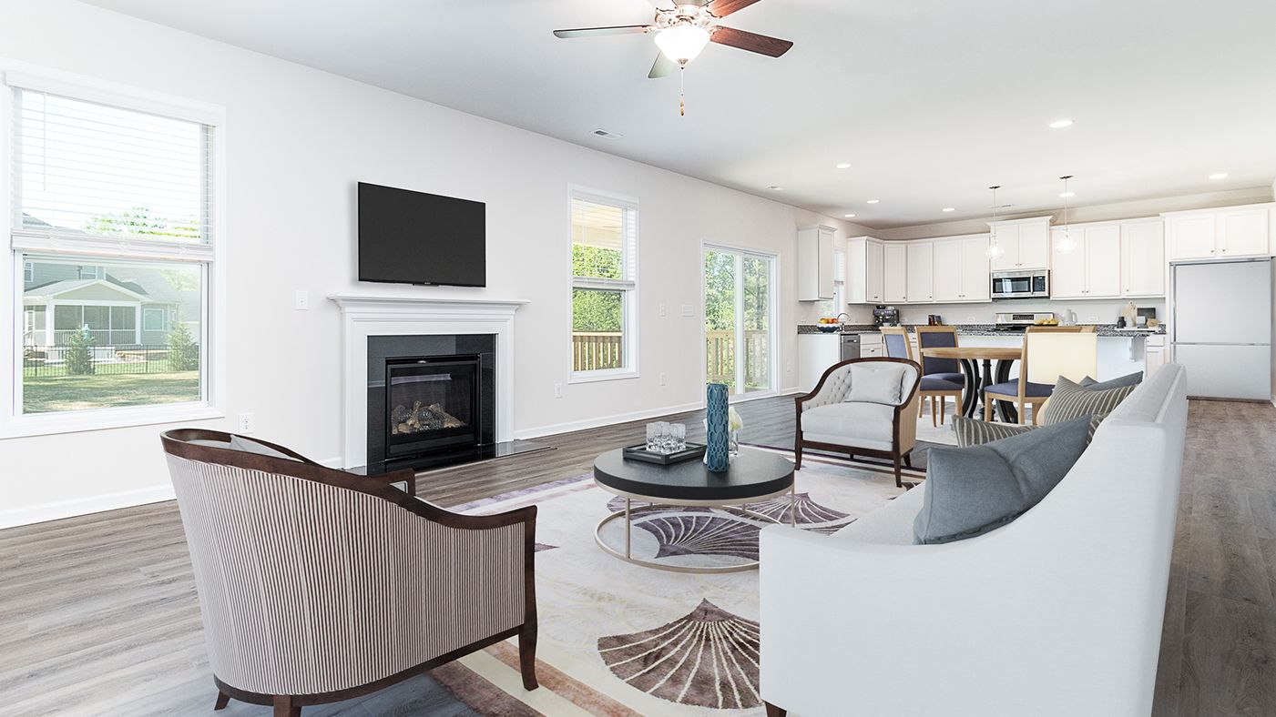 Living Area featured in the Shiloh By Stanley Martin Homes in Columbia, SC