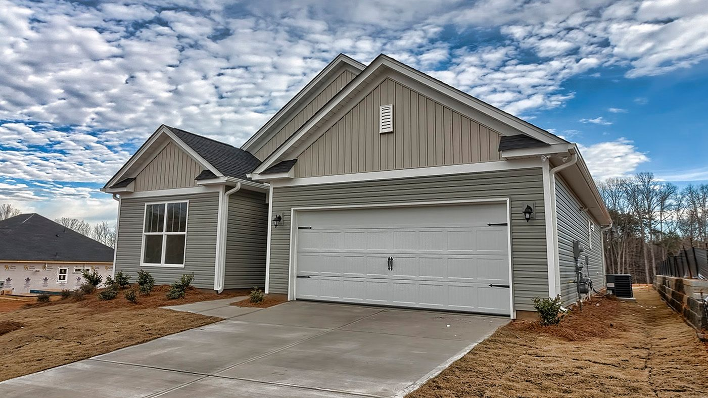 Exterior featured in the Everest By Stanley Martin Homes in Greenville-Spartanburg, SC