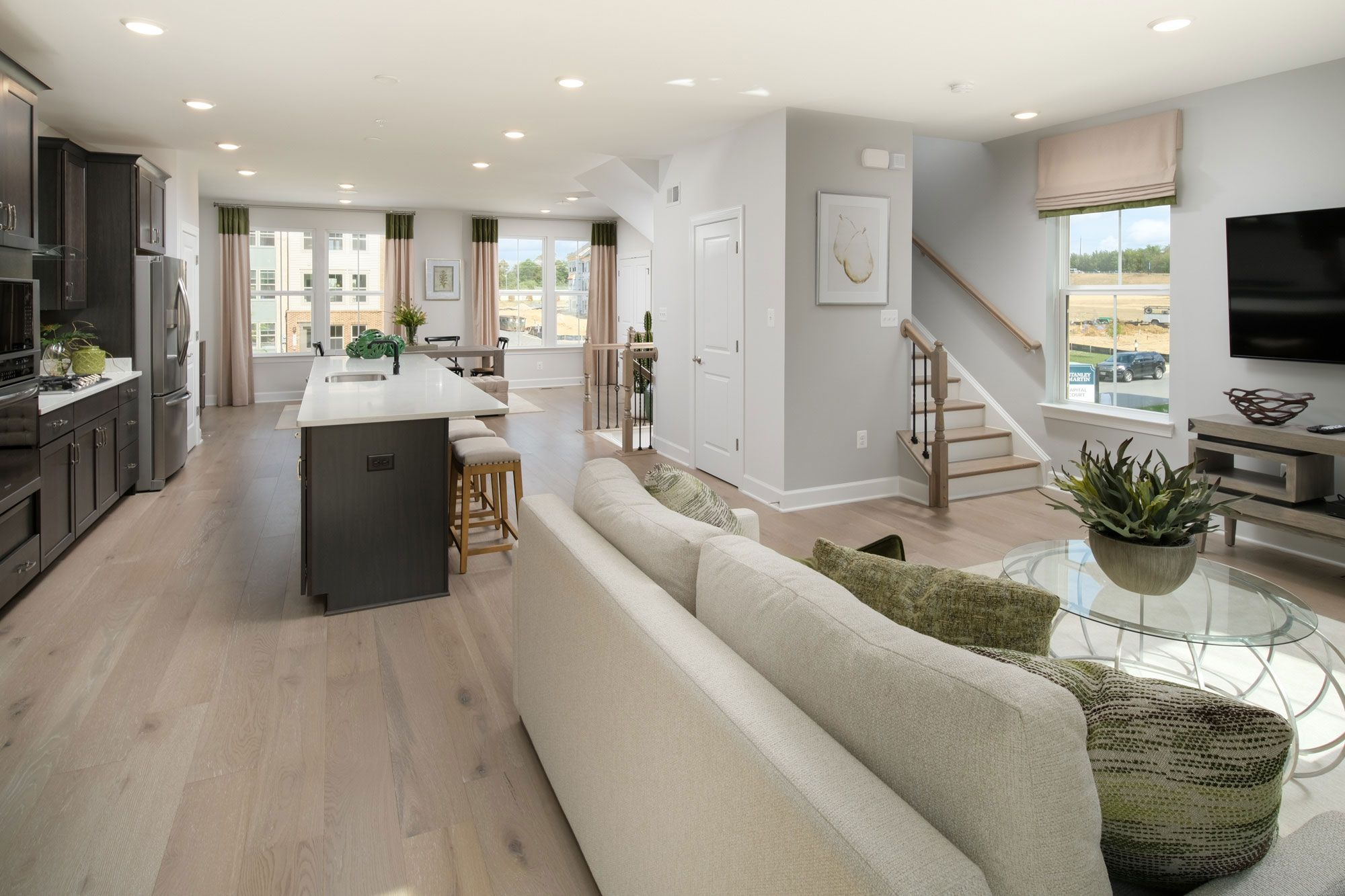 Living Area featured in the Everett By Stanley Martin Homes in Baltimore, MD