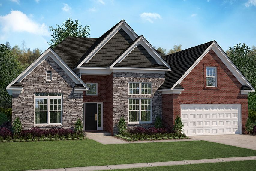 Exterior featured in the Fairwind By Stanley Martin Homes in Augusta, SC