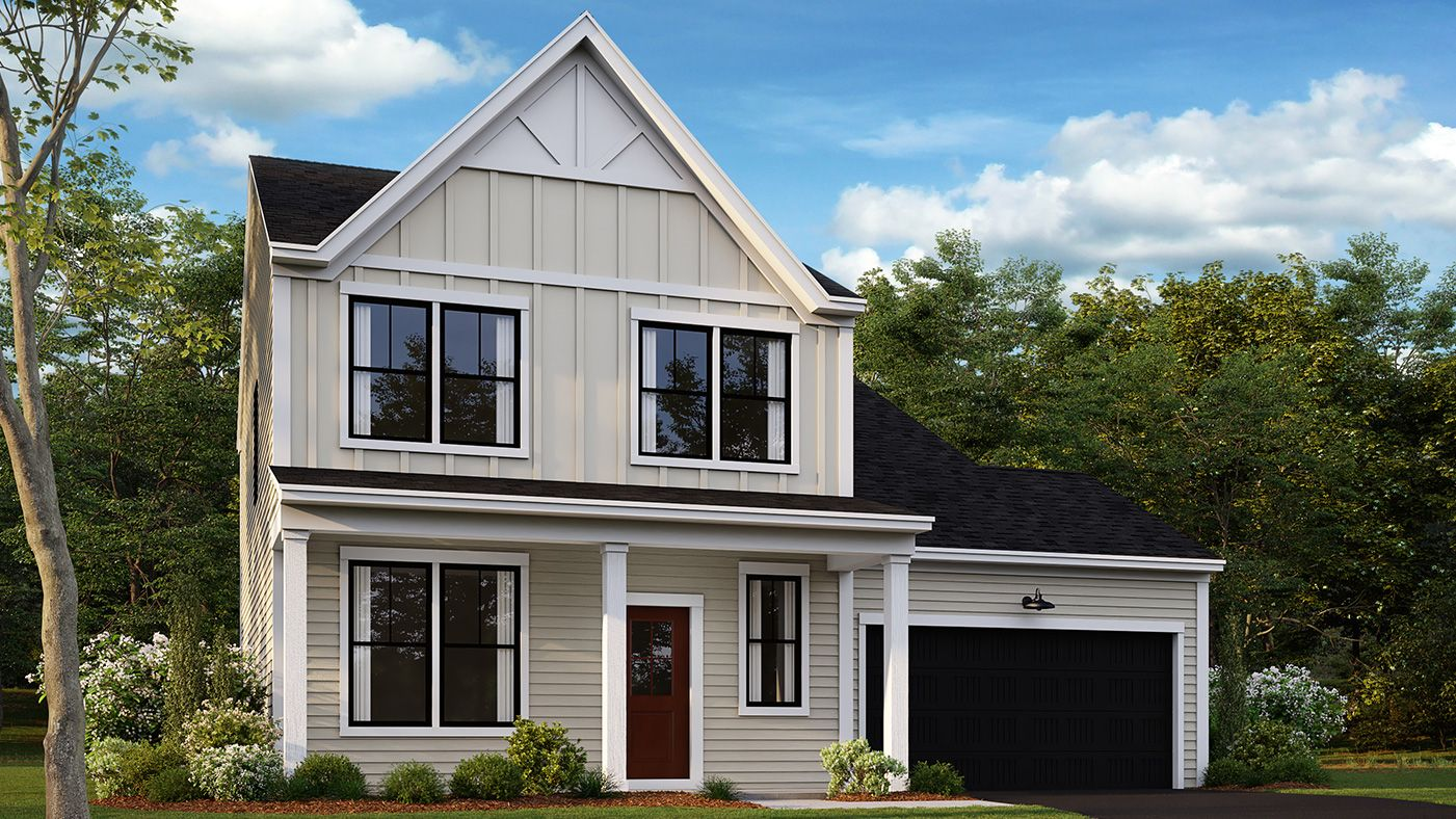 Exterior featured in the Manning By Stanley Martin Homes in Charlottesville, VA
