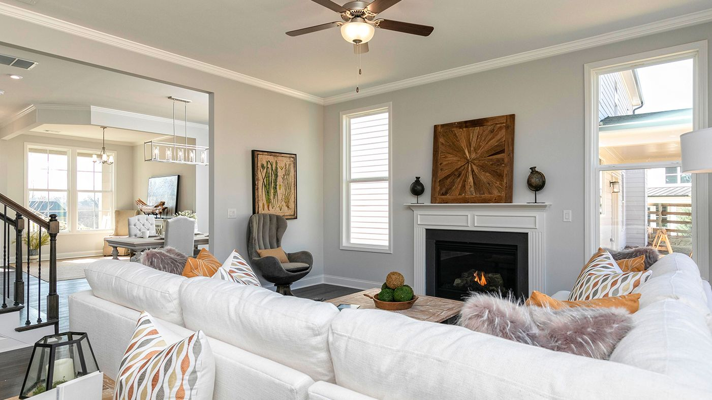 Living Area featured in the Davis By Stanley Martin Homes in Atlanta, GA