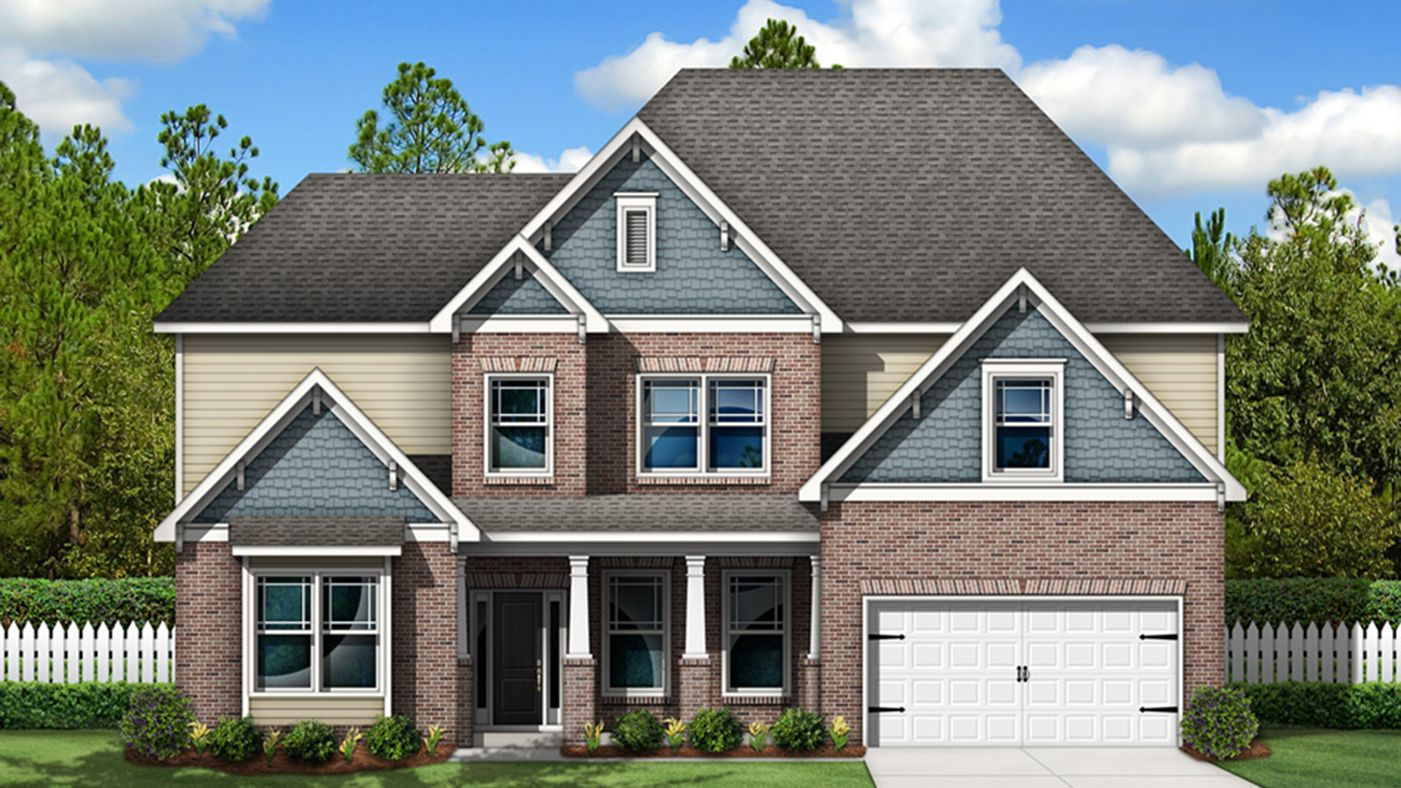 Exterior featured in the Remmington By Stanley Martin Homes in Greenville-Spartanburg, SC