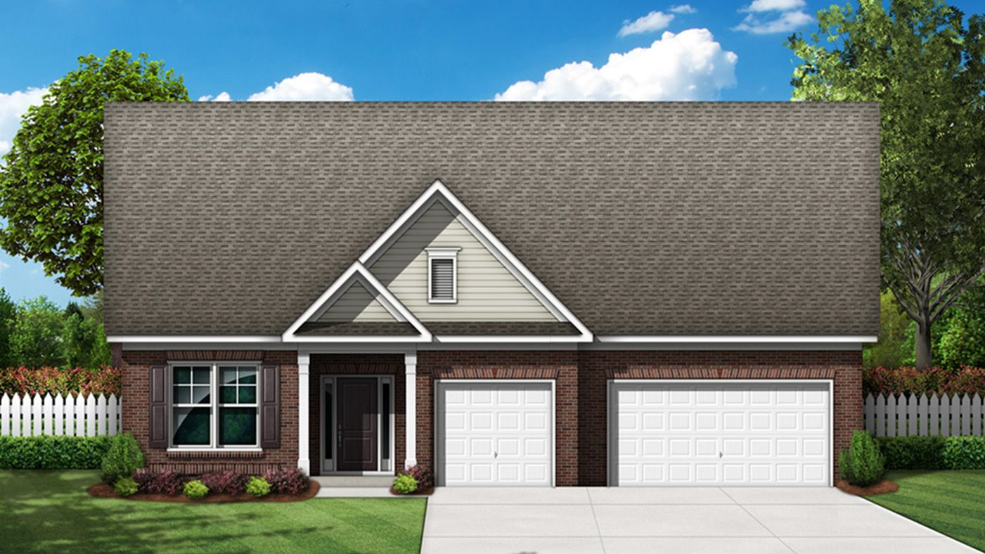 Exterior featured in the Timberlin By Stanley Martin Homes in Columbia, SC