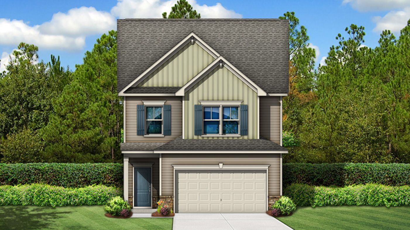 Exterior featured in the Andover By Stanley Martin Homes in Columbia, SC