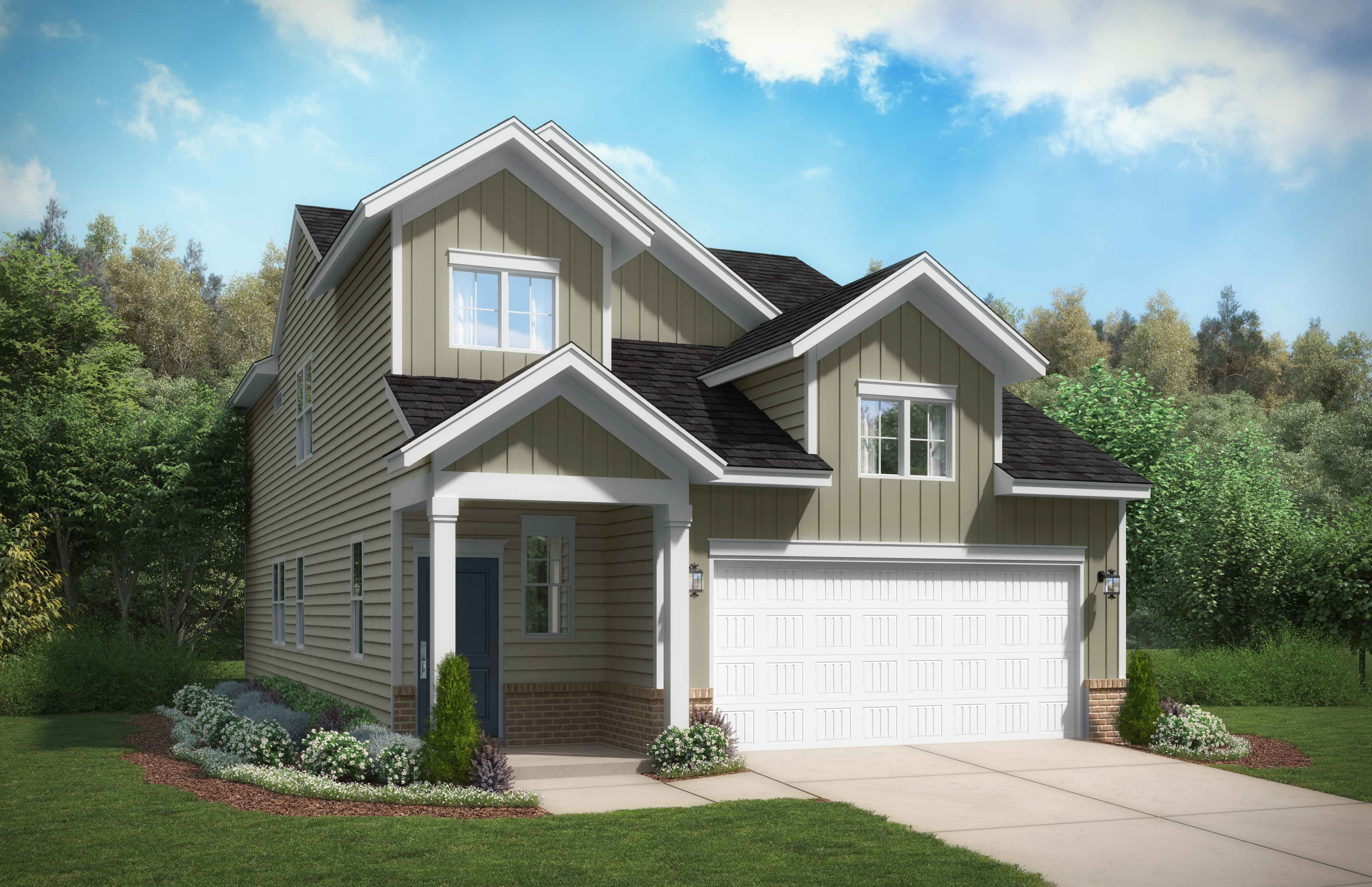 Exterior featured in the Cade By Stanley Martin Homes in Columbia, SC