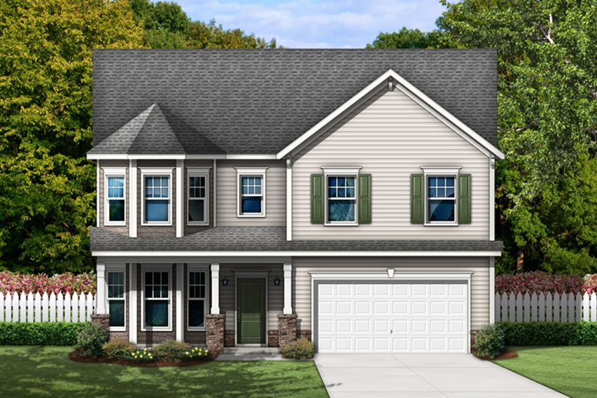 Exterior featured in the Fairview By Stanley Martin Homes in Columbia, SC