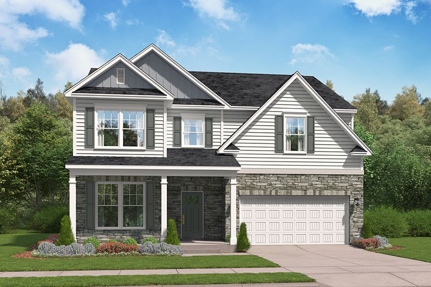 Exterior featured in the Brantley By Stanley Martin Homes in Columbia, SC