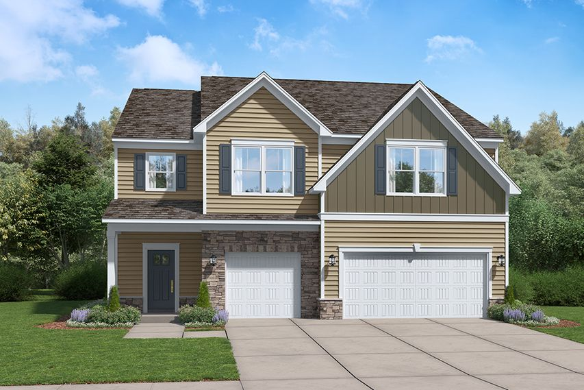 Exterior featured in the Summerville By Stanley Martin Homes in Columbia, SC