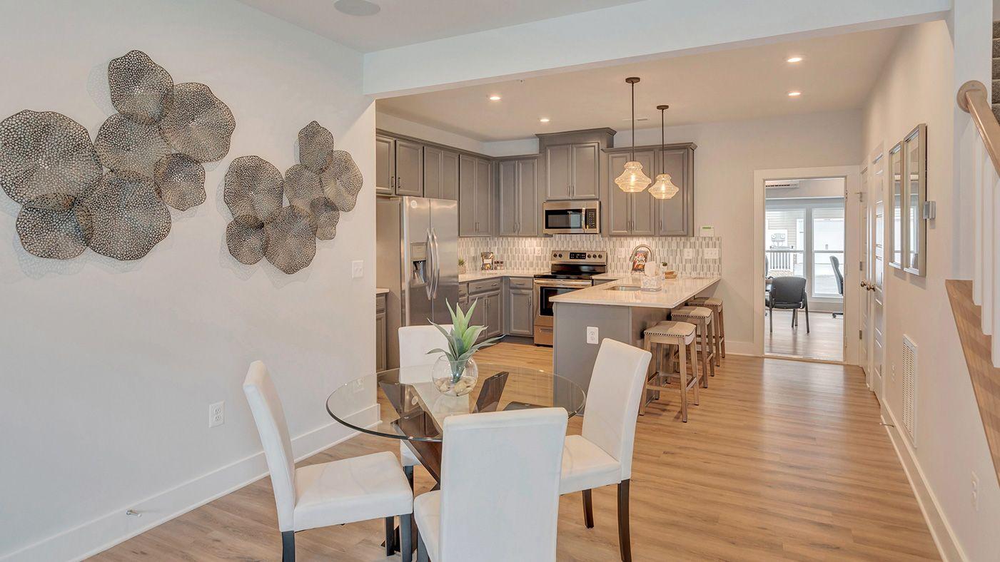 Kitchen featured in The Tessa By Stanley Martin Homes in Washington, VA