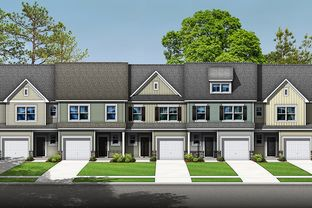 The Peachtree - Townes at Sherrills Ford: Terrell, North Carolina - Stanley Martin Homes