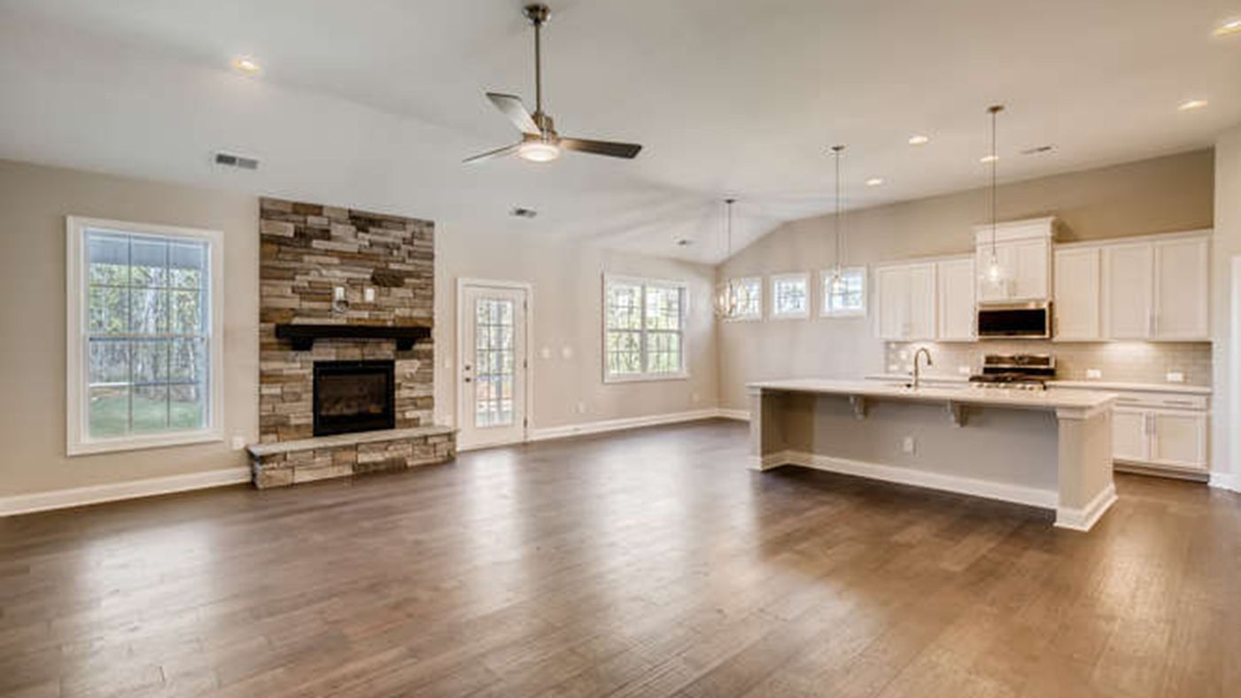 Kitchen featured in The Albright By Stanley Martin Homes in Charlotte, SC