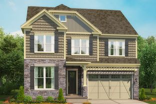The Chloe II - The Residences at West Village: Apex, North Carolina - Stanley Martin Homes