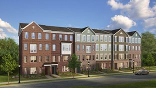 The Jordan - Glenn Dale Commons: Lanham, District Of Columbia - Stanley Martin Homes