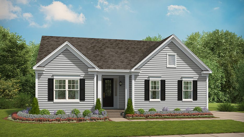 Exterior featured in The Pickering By Stanley Martin Homes in Charlottesville, VA