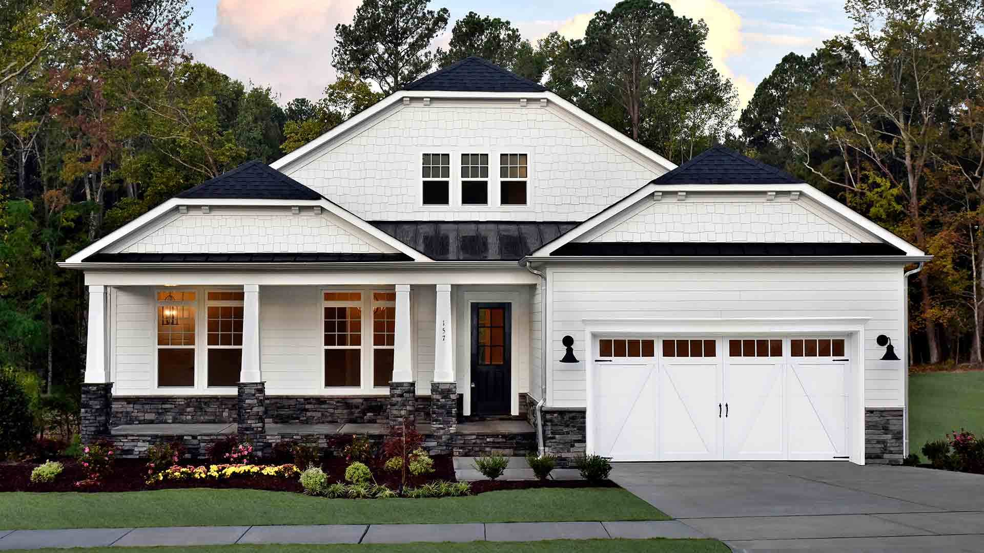 Exterior featured in The Jackson II By Stanley Martin Homes in Charlottesville, VA