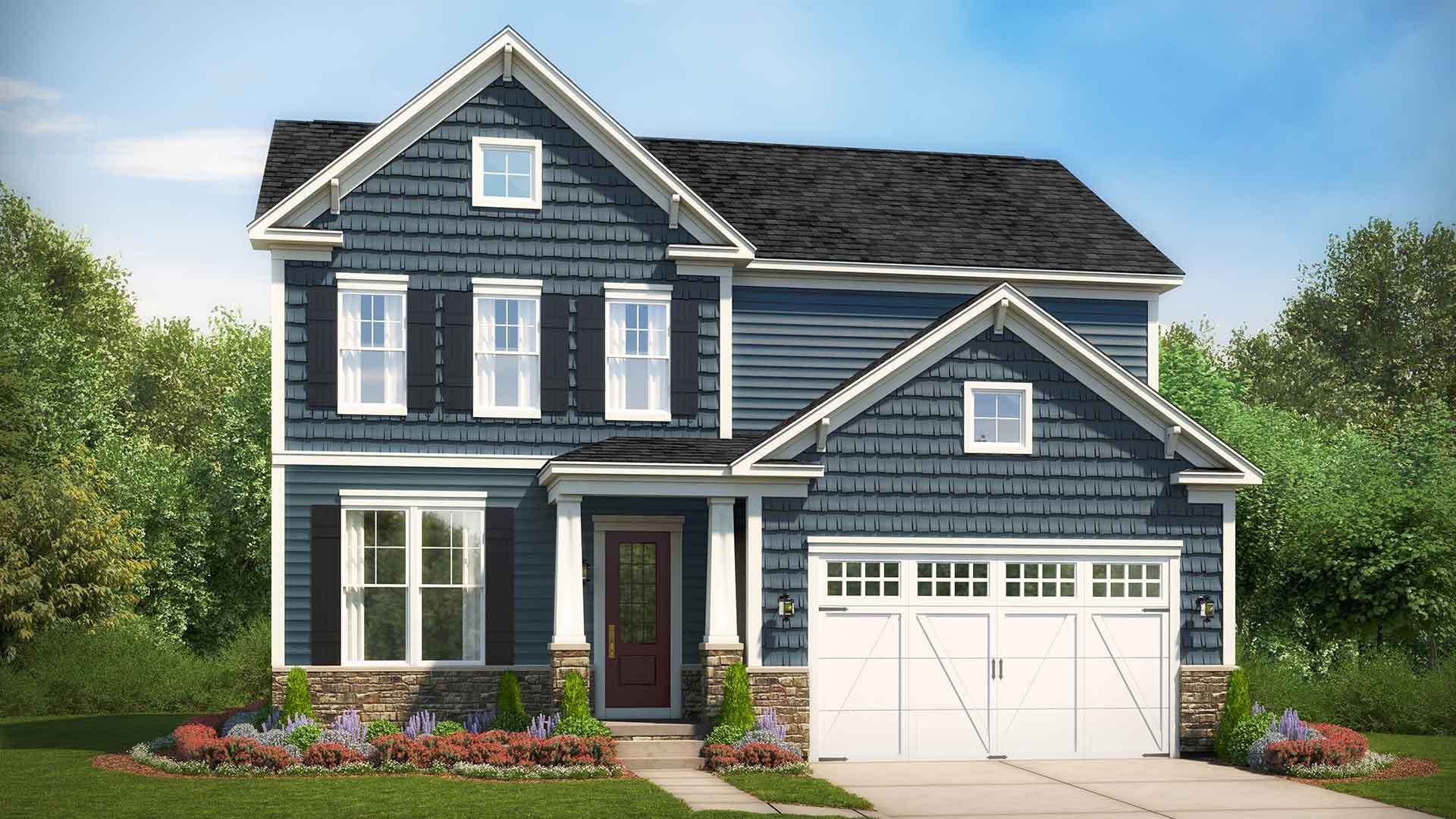 Exterior featured in The Sawyer By Stanley Martin Homes in Charlottesville, VA