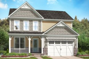The Sawyer II - The Residences at West Village: Apex, North Carolina - Stanley Martin Homes