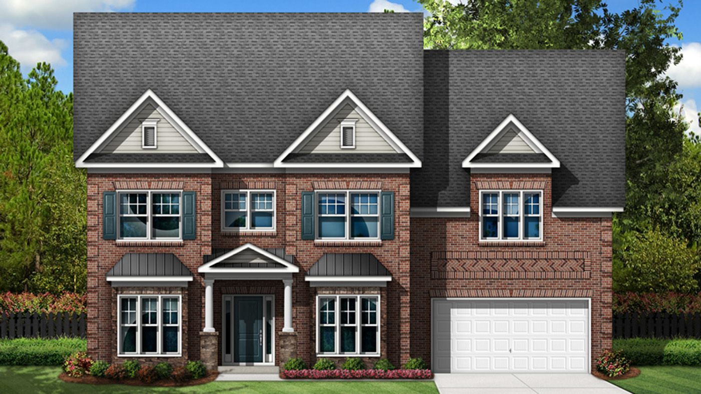 Exterior featured in The Springfield By Stanley Martin Homes in Columbia, SC
