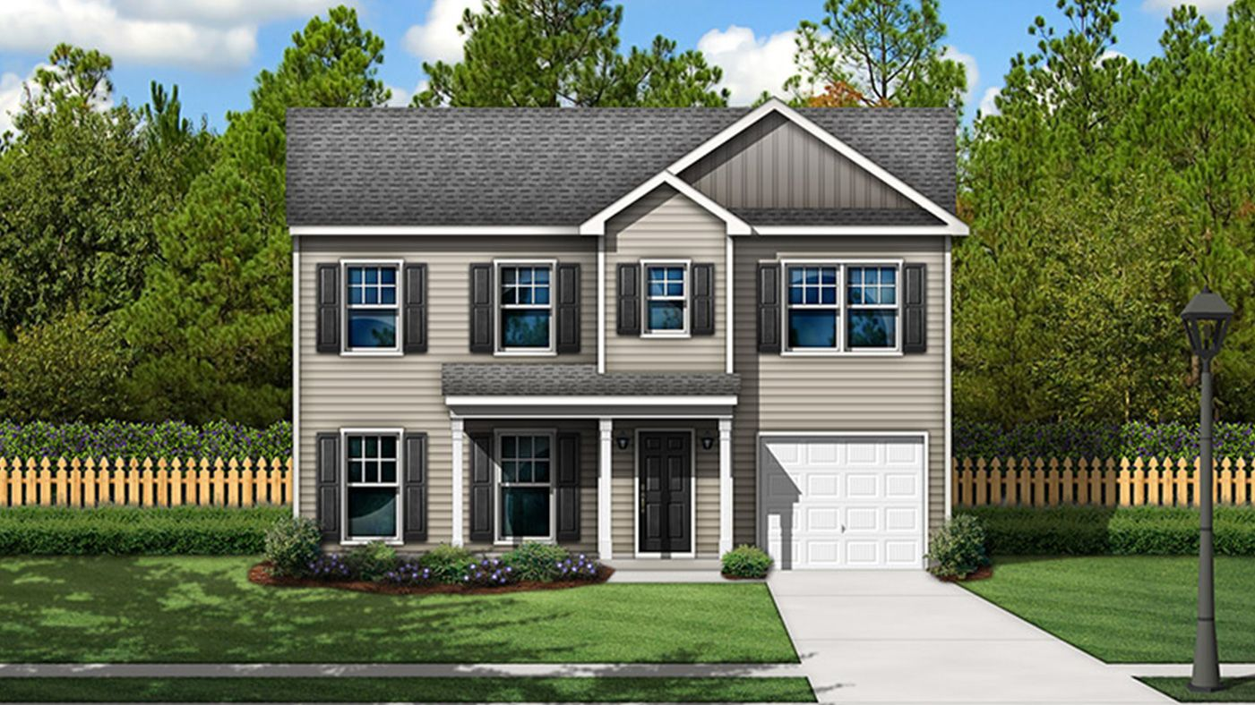 Exterior featured in The Duncan By Stanley Martin Homes in Columbia, SC
