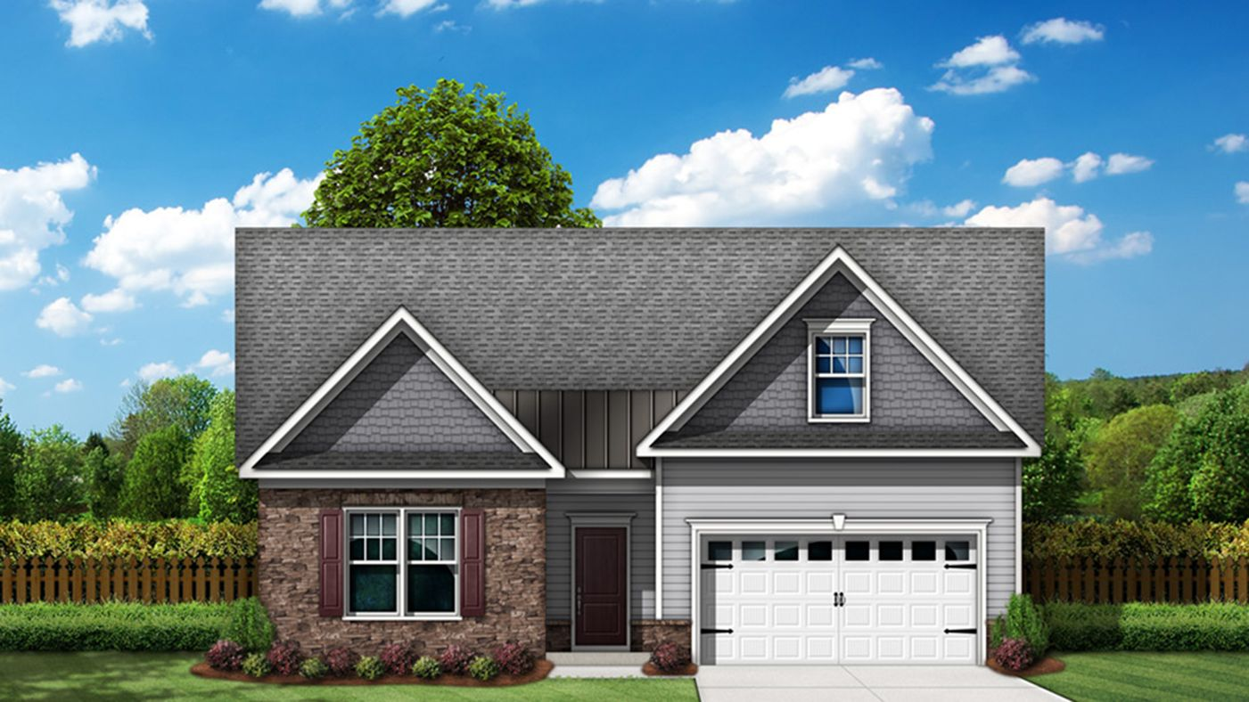 Exterior featured in The Winston By Stanley Martin Homes in Charlotte, NC