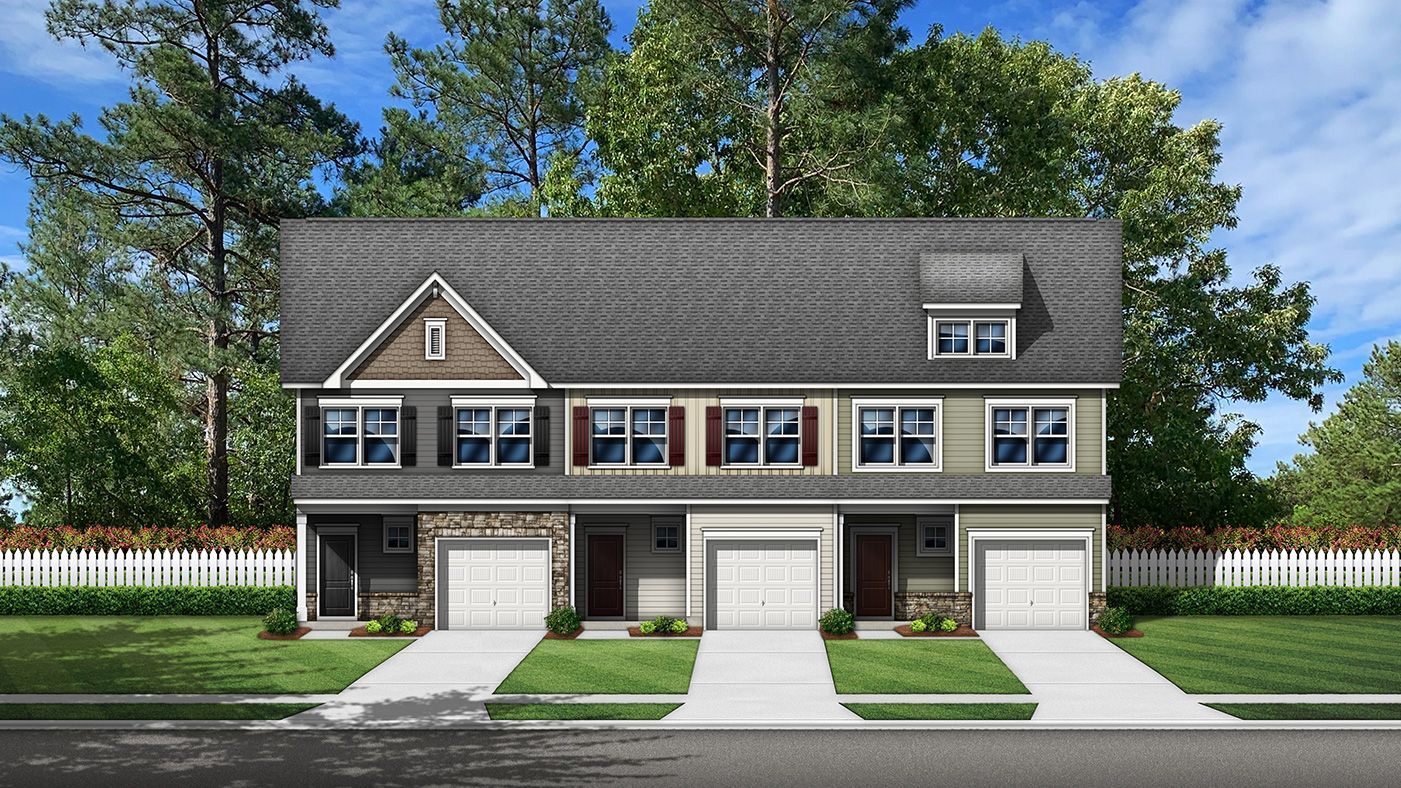 Exterior featured in The Jacqueline By Stanley Martin Homes in Hickory, NC