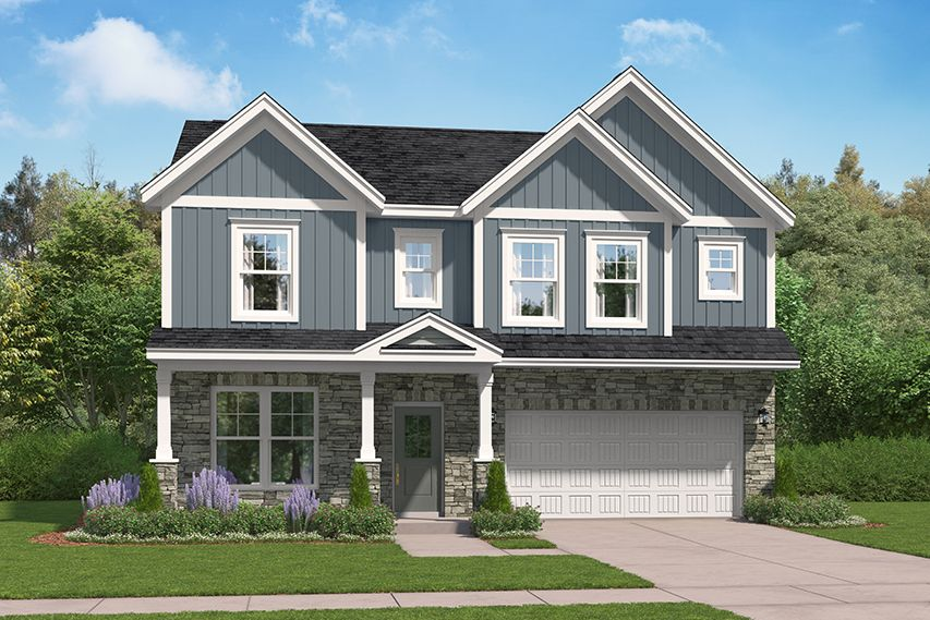 Exterior featured in The Pinewood By Stanley Martin Homes in Greenville-Spartanburg, SC