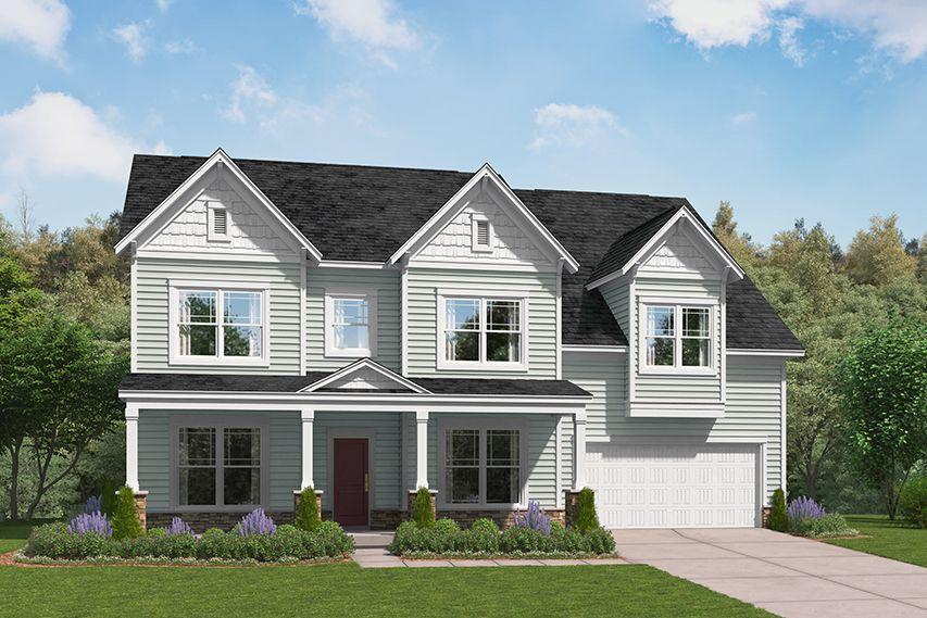 Exterior featured in The Springfield By Stanley Martin Homes in Greenville-Spartanburg, SC