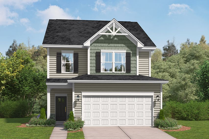 Exterior featured in The Andover By Stanley Martin Homes in Augusta, SC