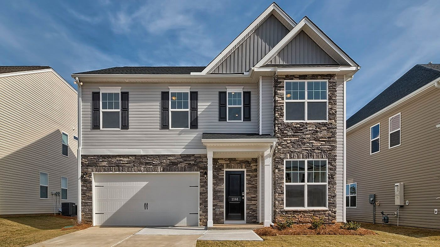 Exterior featured in The Pinewood By Stanley Martin Homes in Augusta, SC