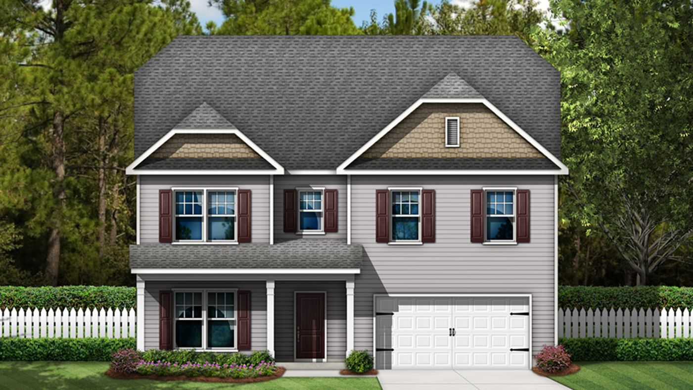 Exterior featured in The Shiloh By Stanley Martin Homes in Augusta, SC
