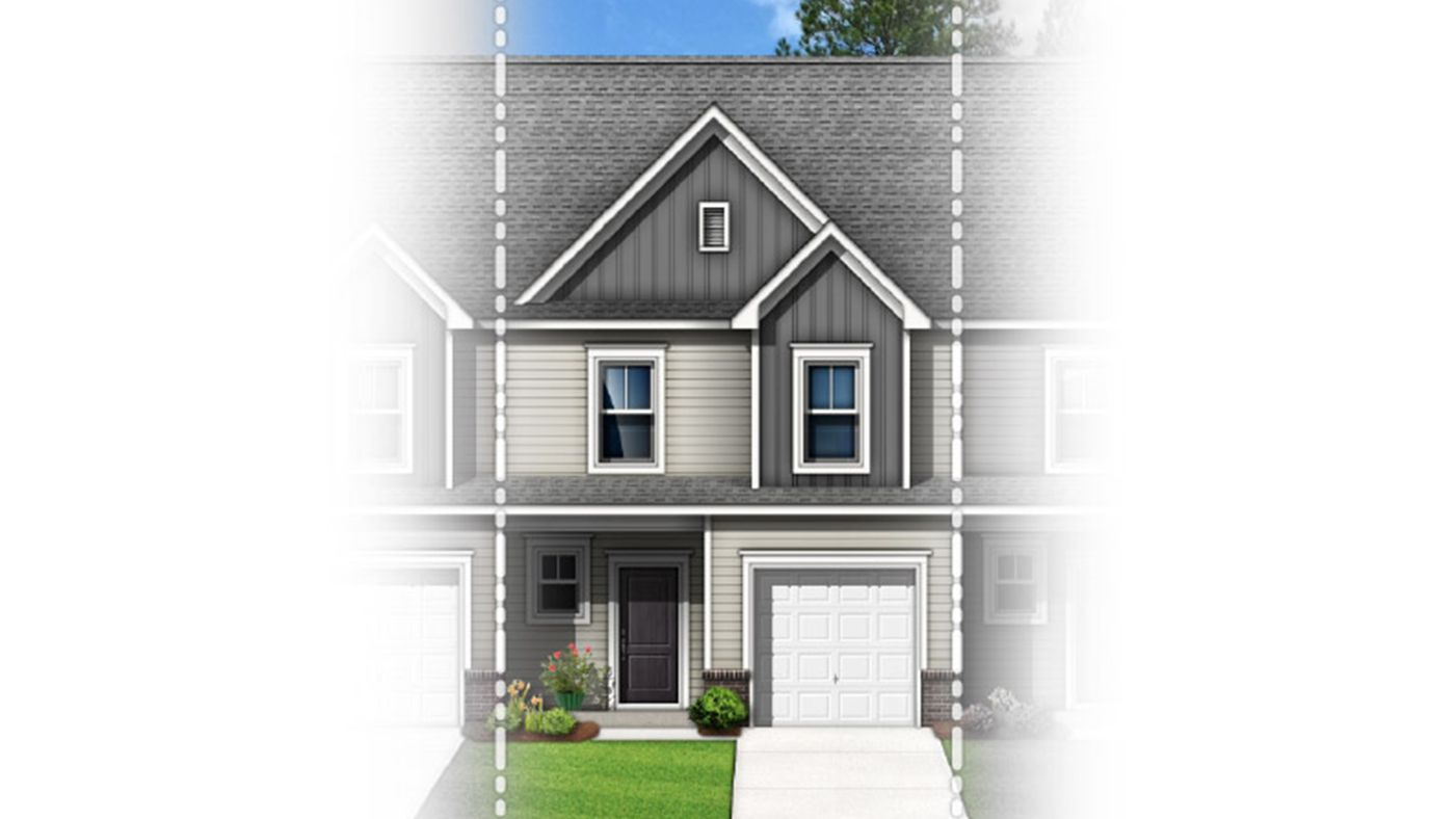 Exterior featured in The Peachtree By Stanley Martin Homes in Greenville-Spartanburg, SC