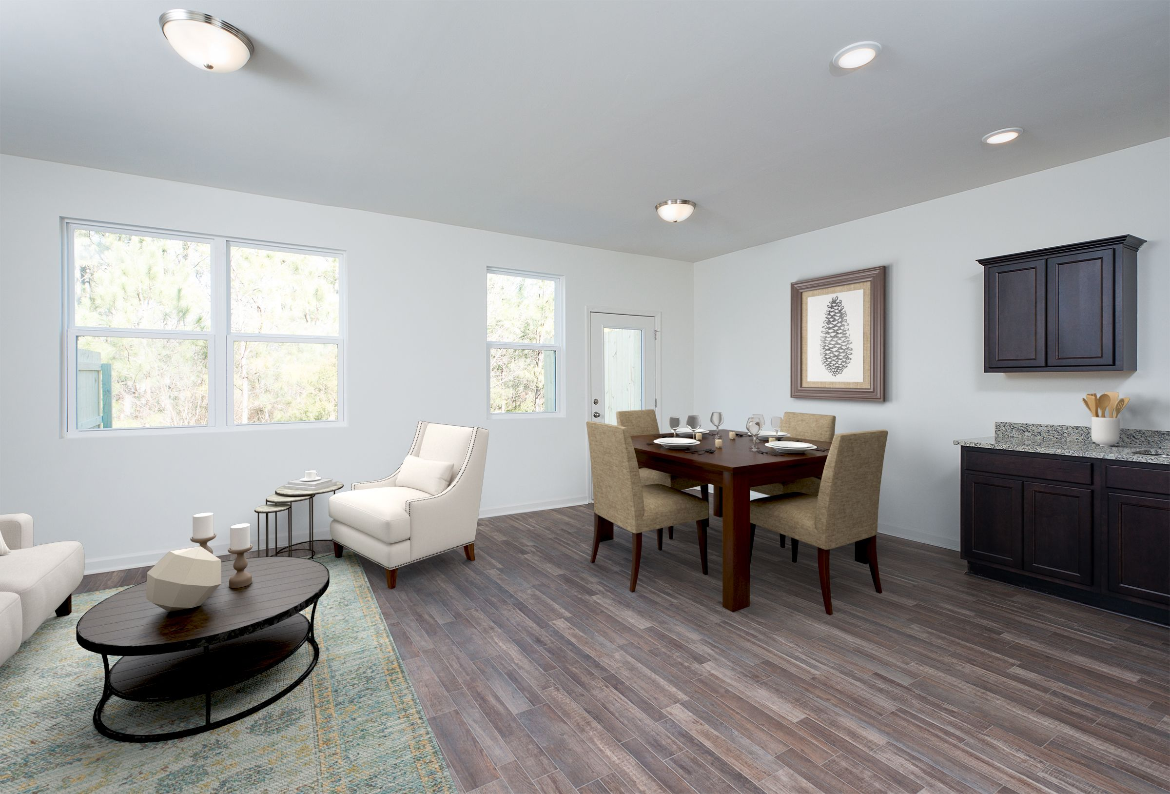 Living Area featured in the Galaxy By Starlight Homes in Atlanta, GA