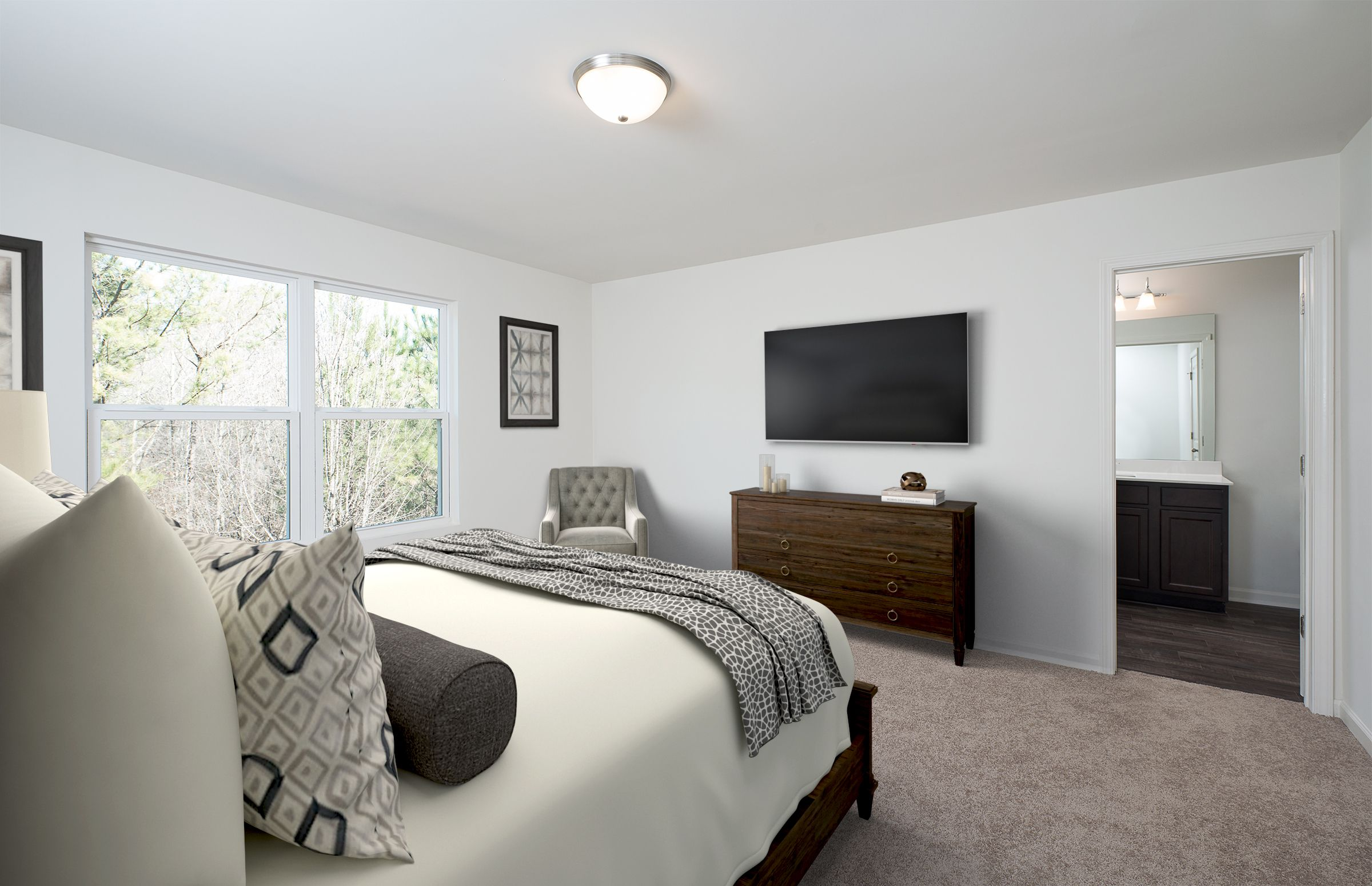Bedroom featured in the Galaxy By Starlight Homes in Atlanta, GA