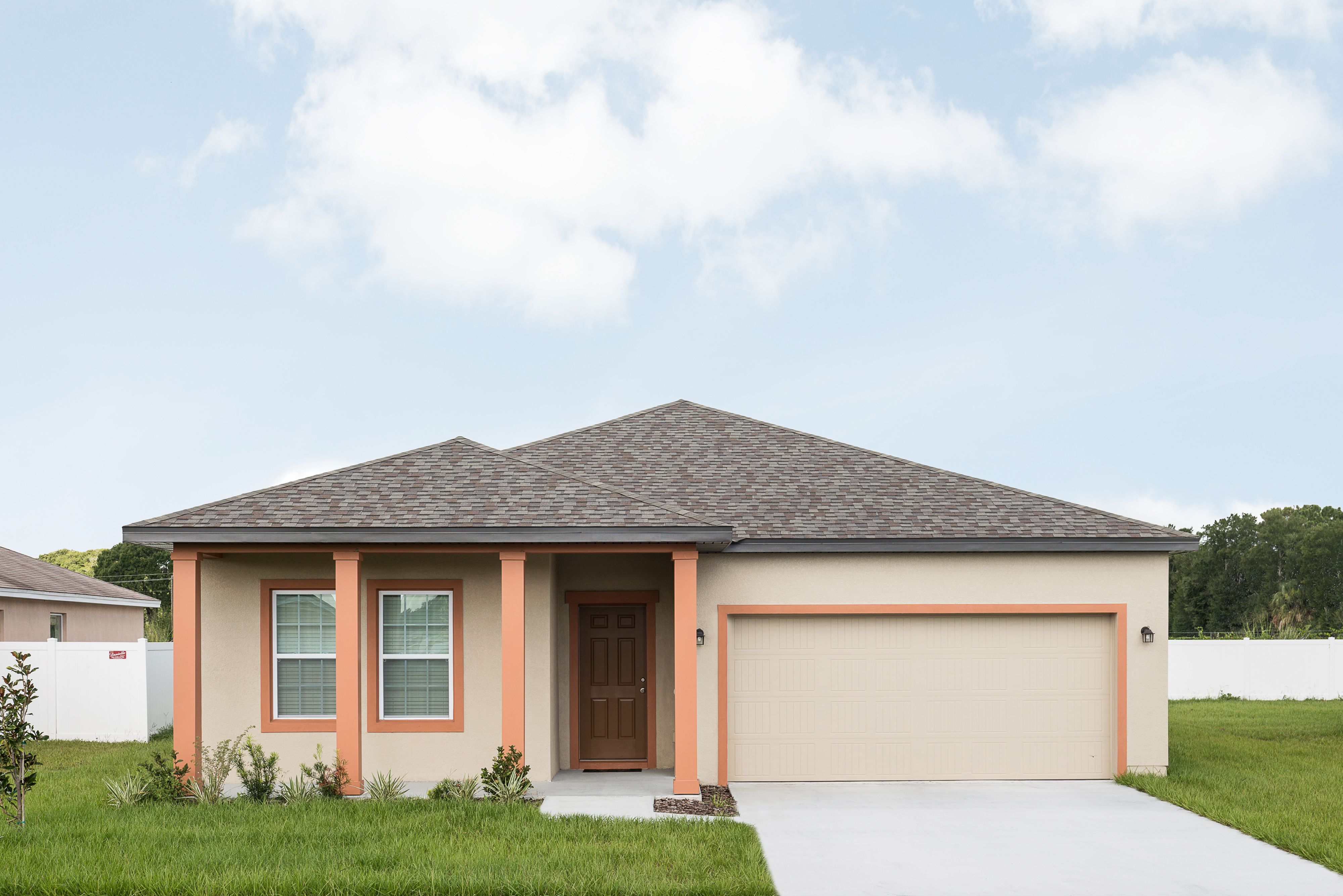 Exterior featured in the Polaris By Starlight Homes in Lakeland-Winter Haven, FL