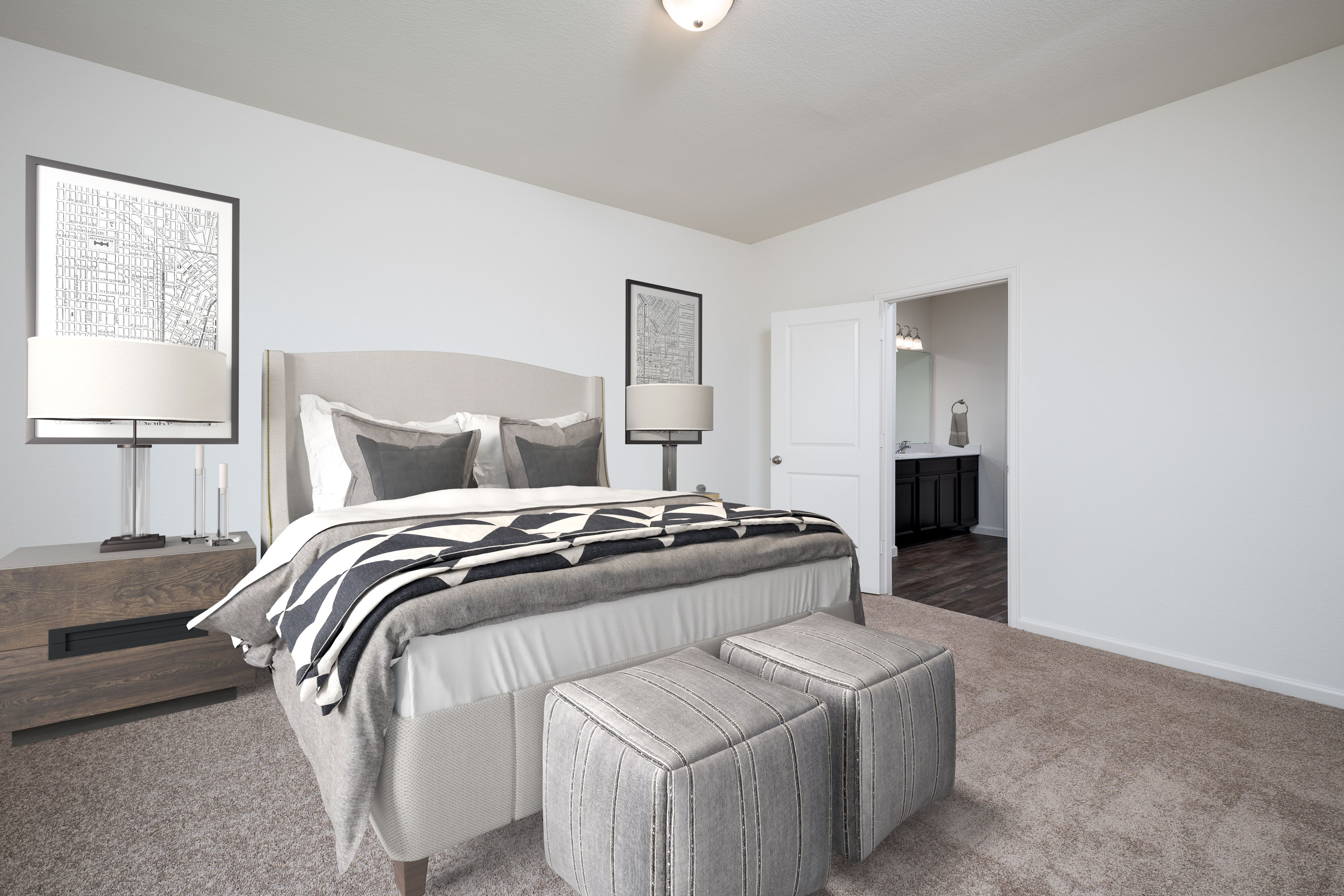 Bedroom featured in the Luna By Starlight Homes in Fort Worth, TX