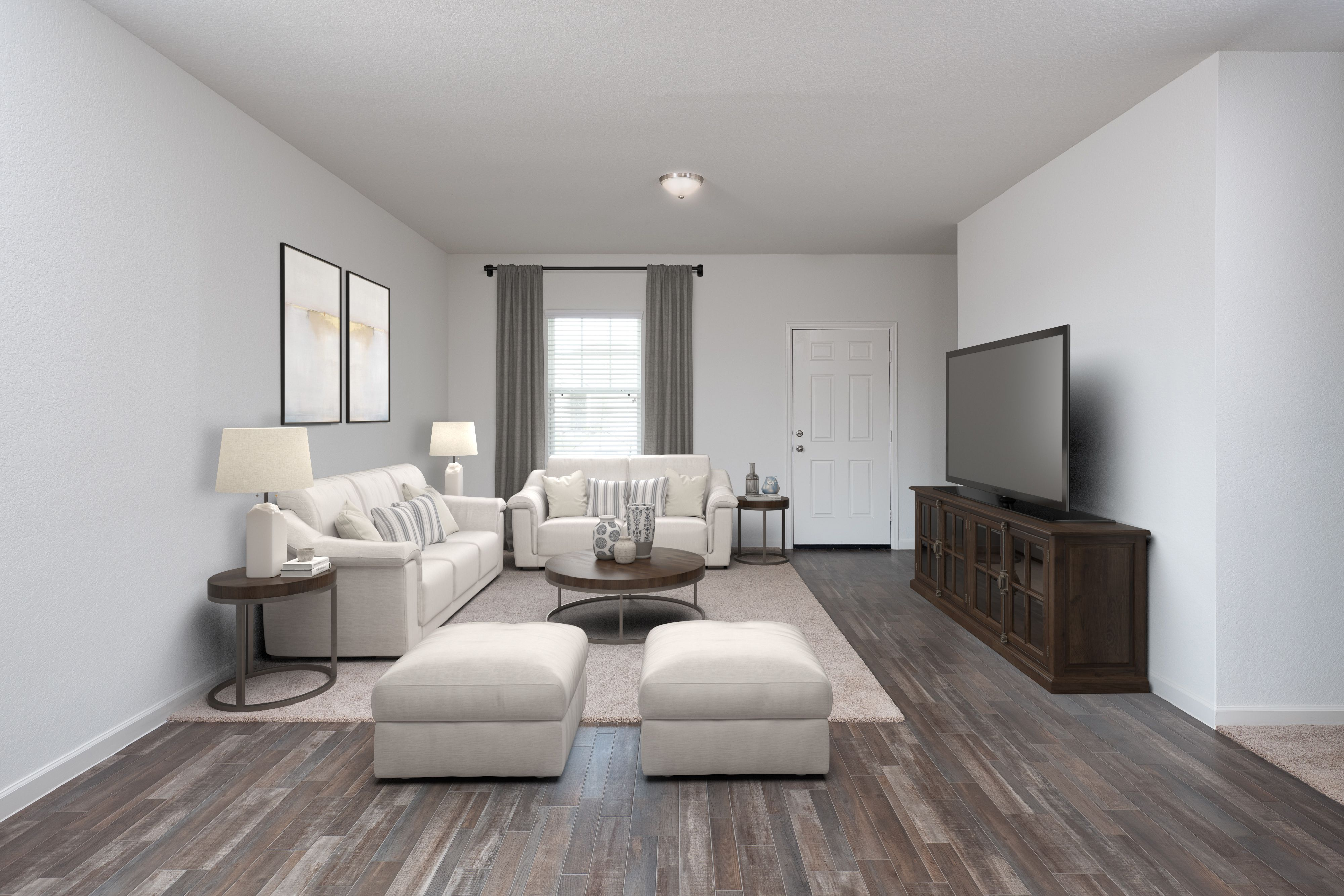 Living Area featured in the Dawn By Starlight Homes in Austin, TX