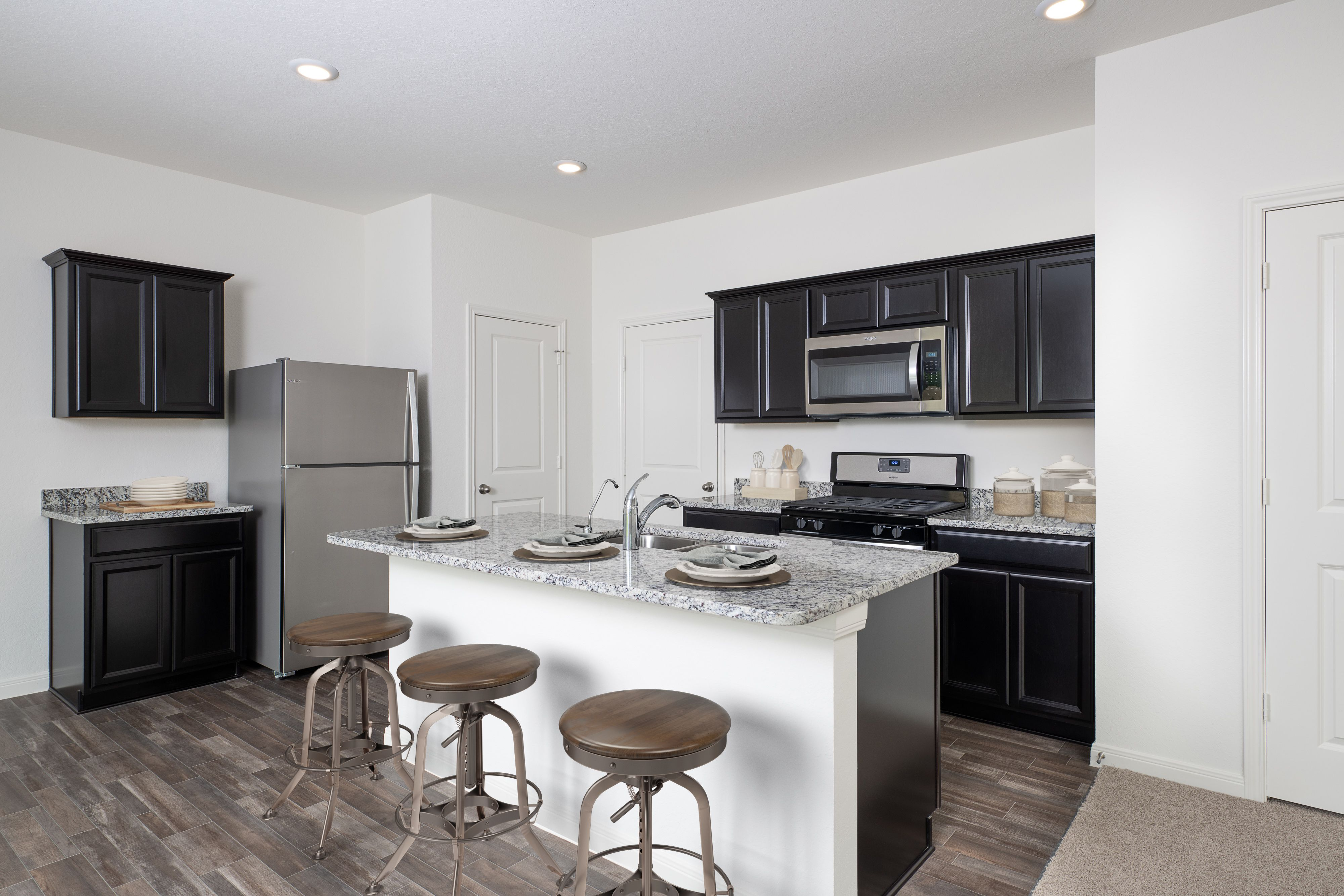 Kitchen featured in the Voyager By Starlight Homes in Austin, TX