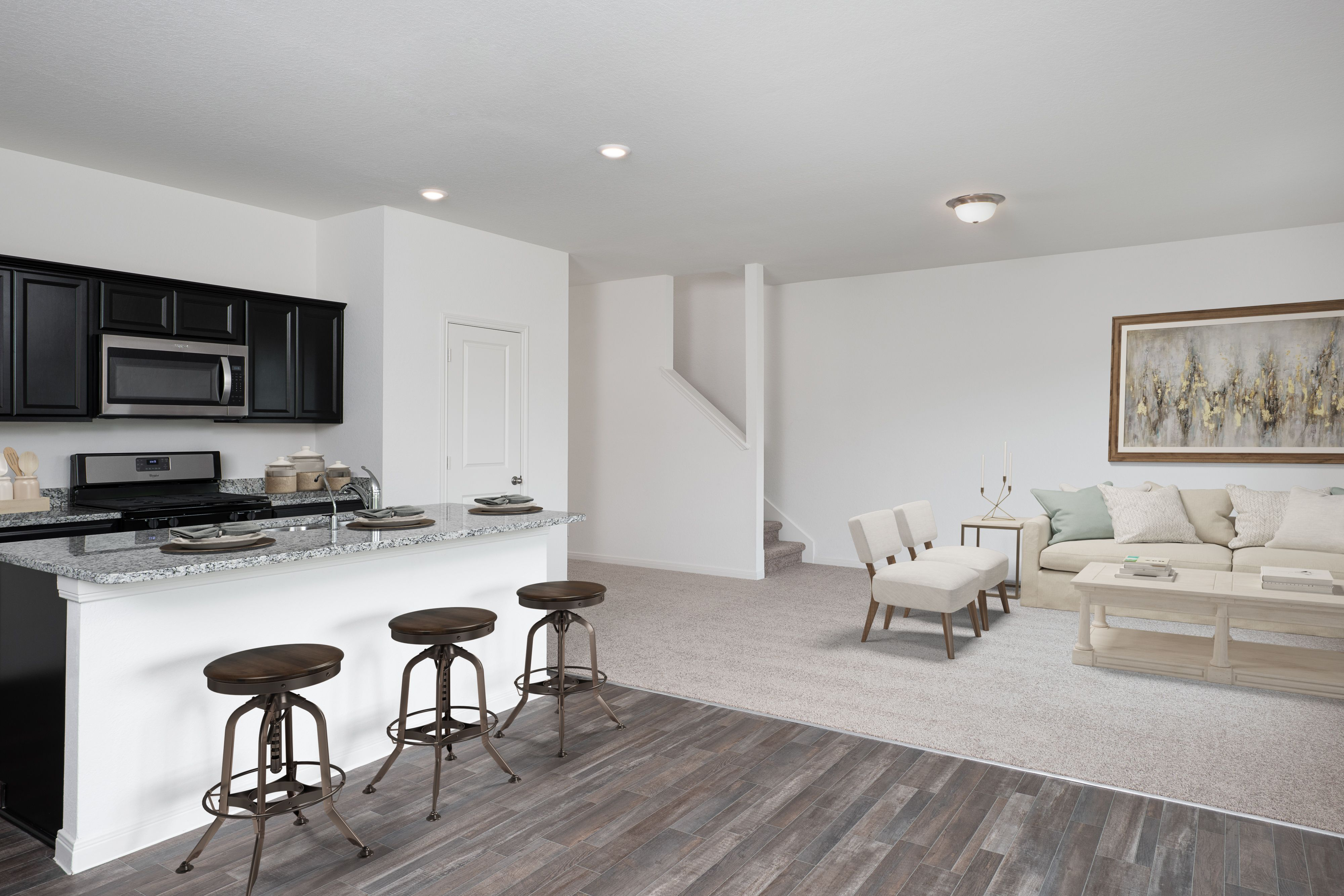 Living Area featured in the Voyager By Starlight Homes in Austin, TX