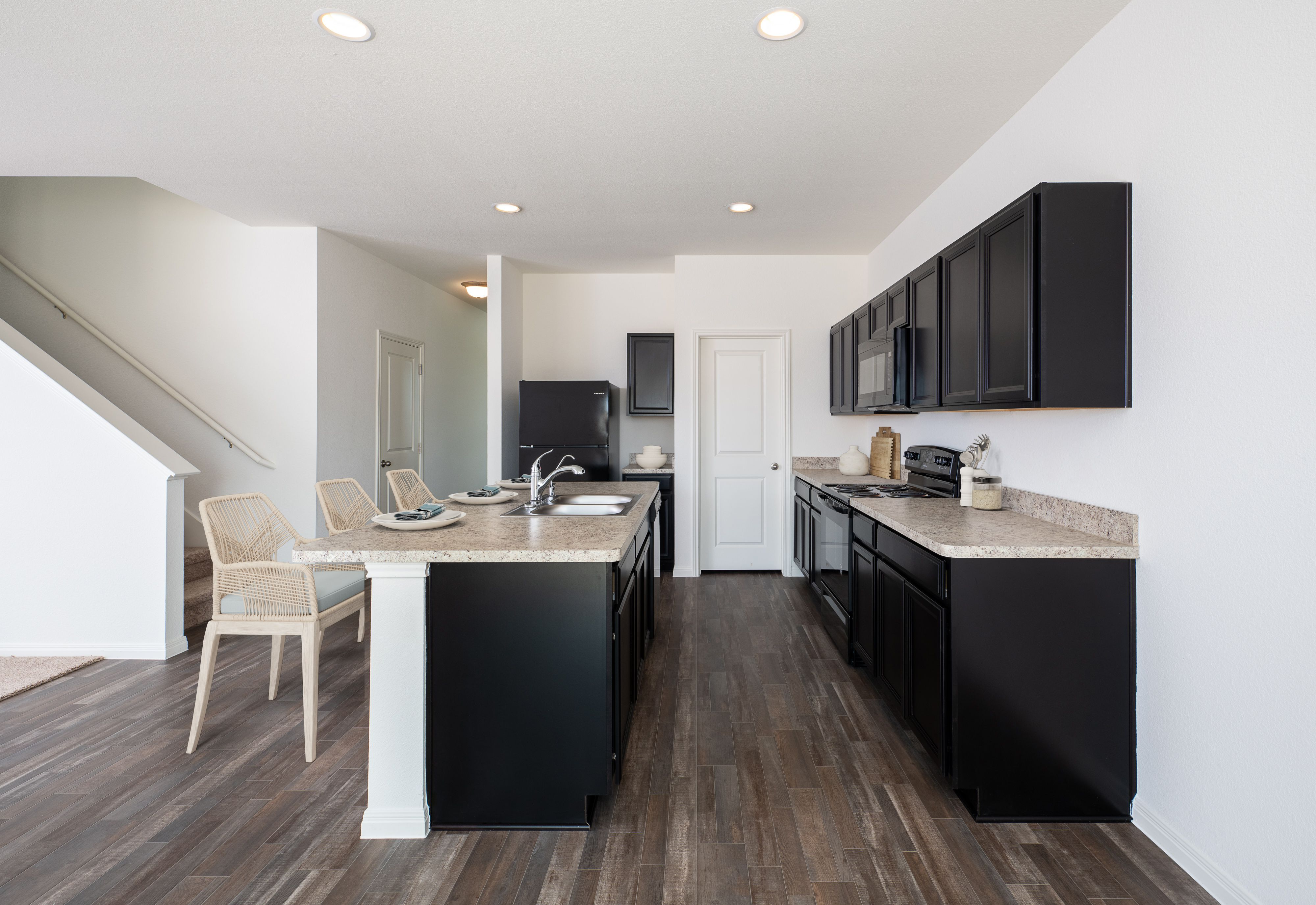 Kitchen featured in the Spectra By Starlight Homes in Austin, TX