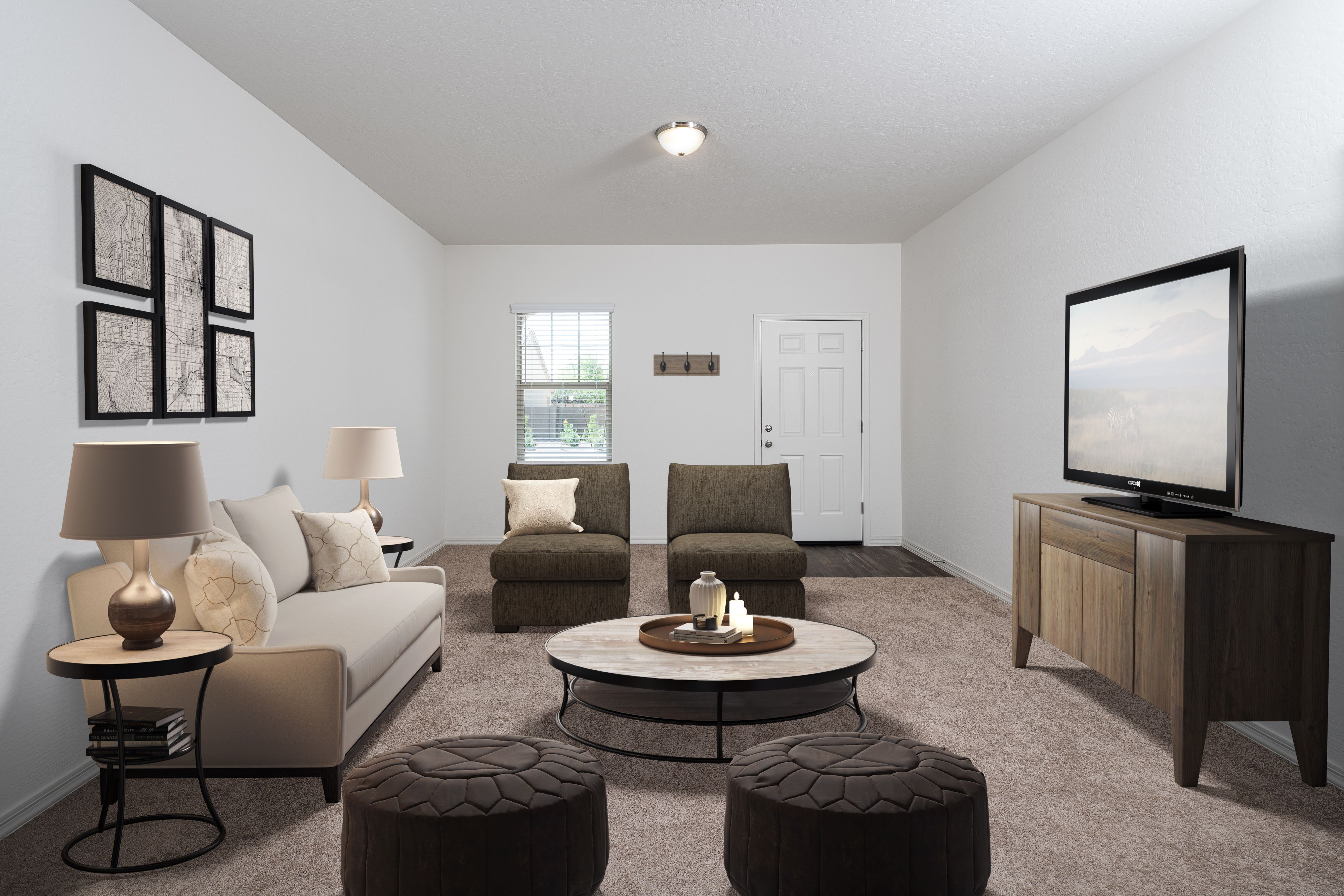 Living Area featured in the Comet By Starlight Homes in San Antonio, TX
