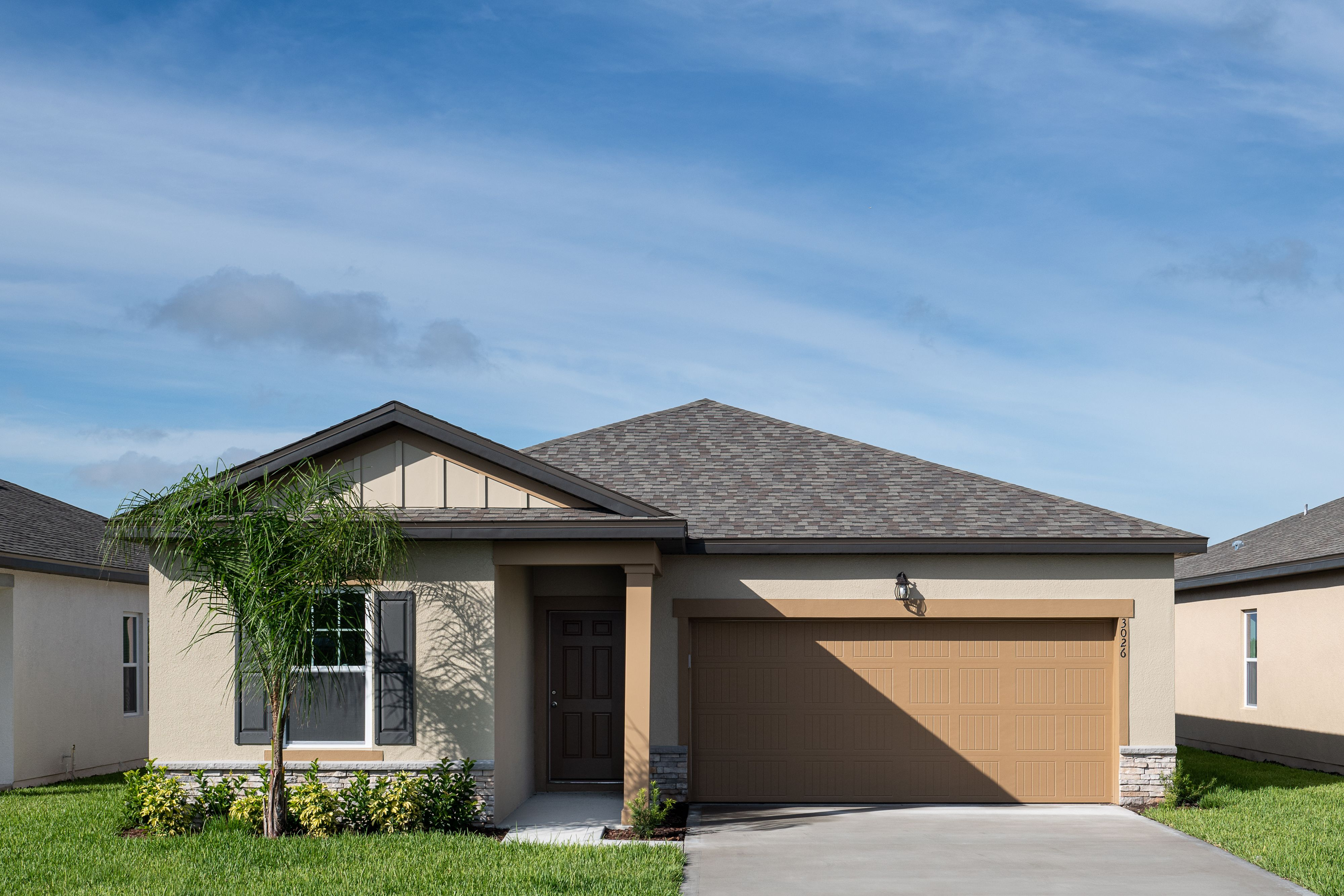Exterior featured in the Moonbeam By Starlight Homes in Daytona Beach, FL