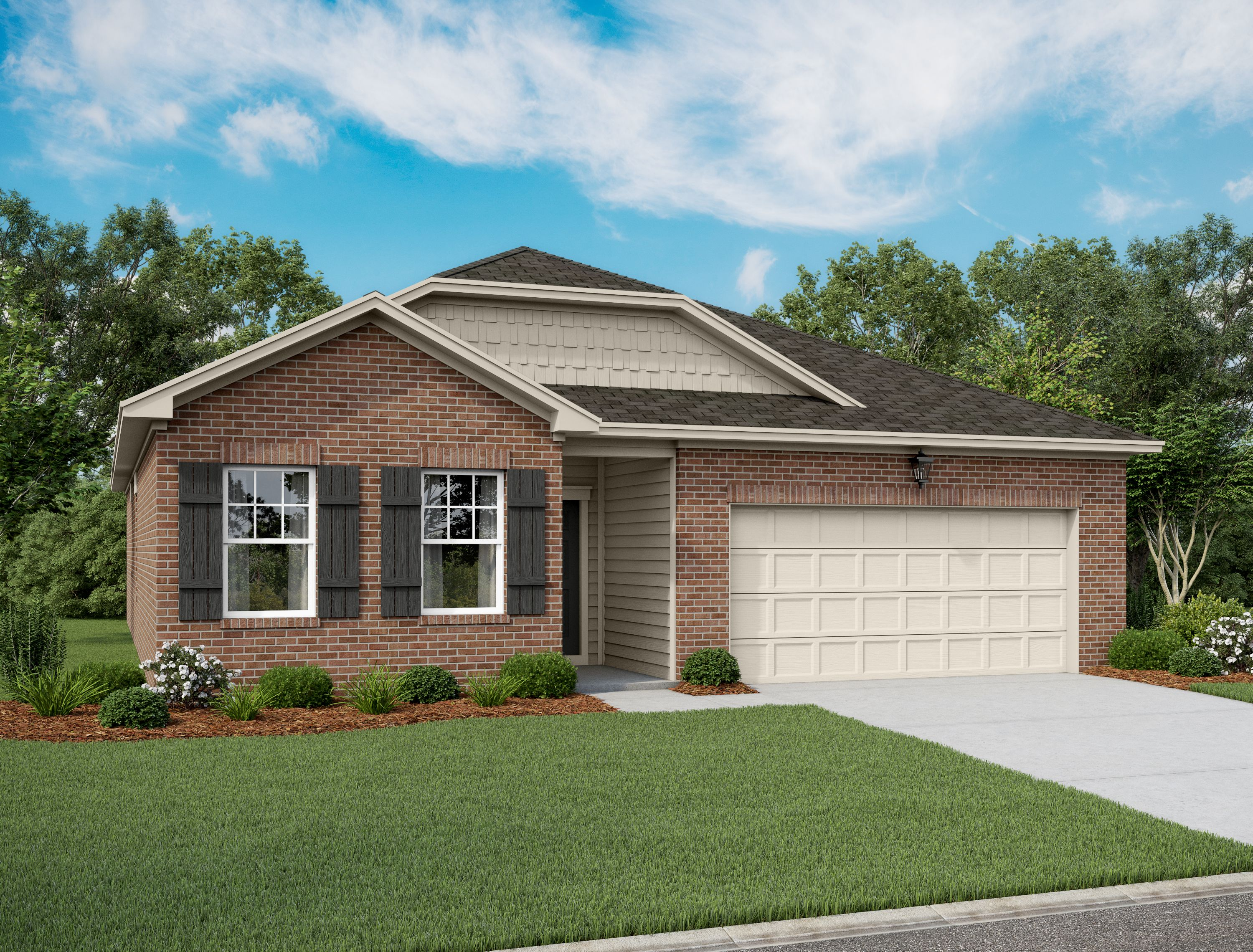 Exterior featured in the Aurora By Starlight Homes in Fort Worth, TX
