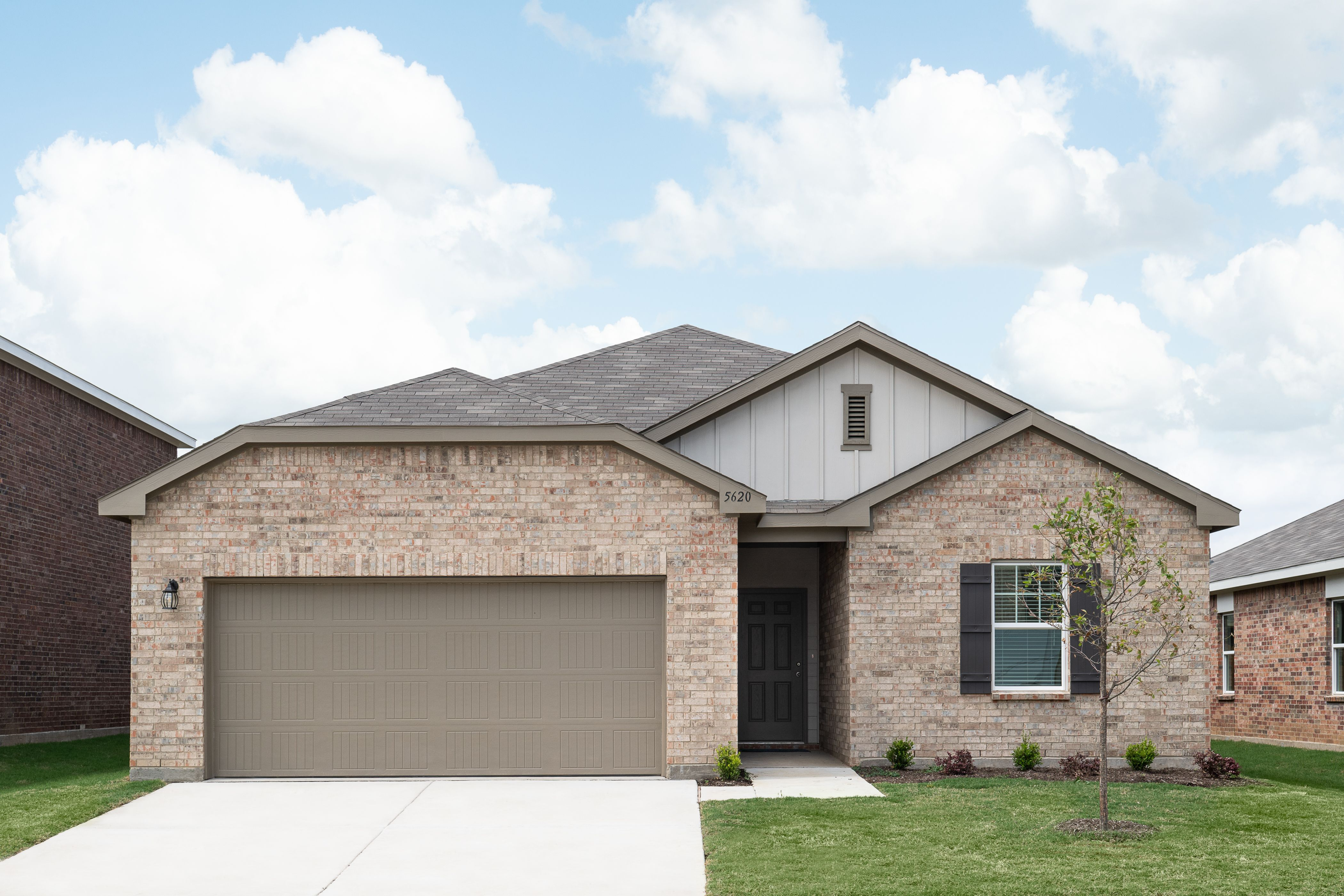 Exterior featured in the Luna By Starlight Homes in Fort Worth, TX