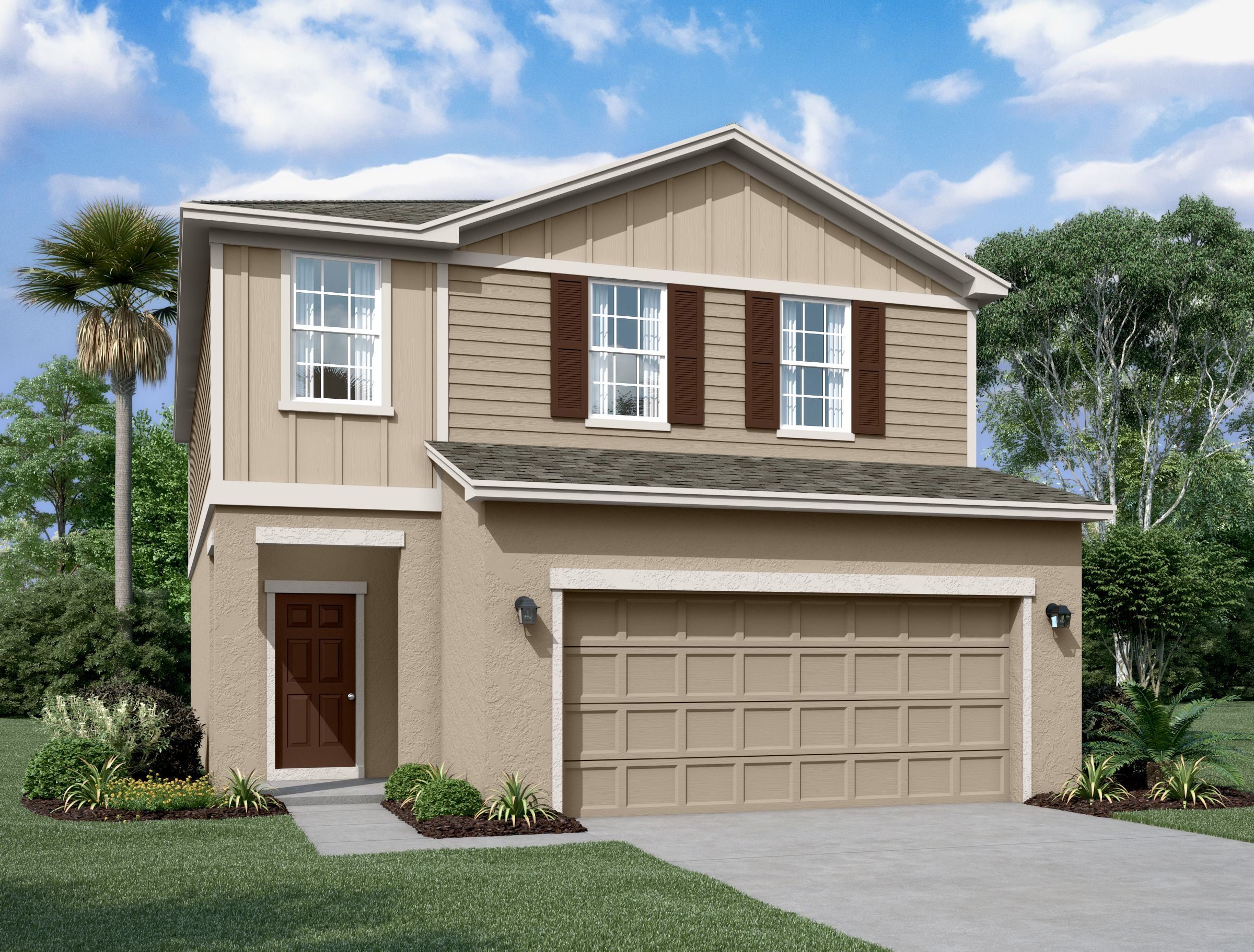 Exterior featured in the Magellan By Starlight Homes in Lakeland-Winter Haven, FL