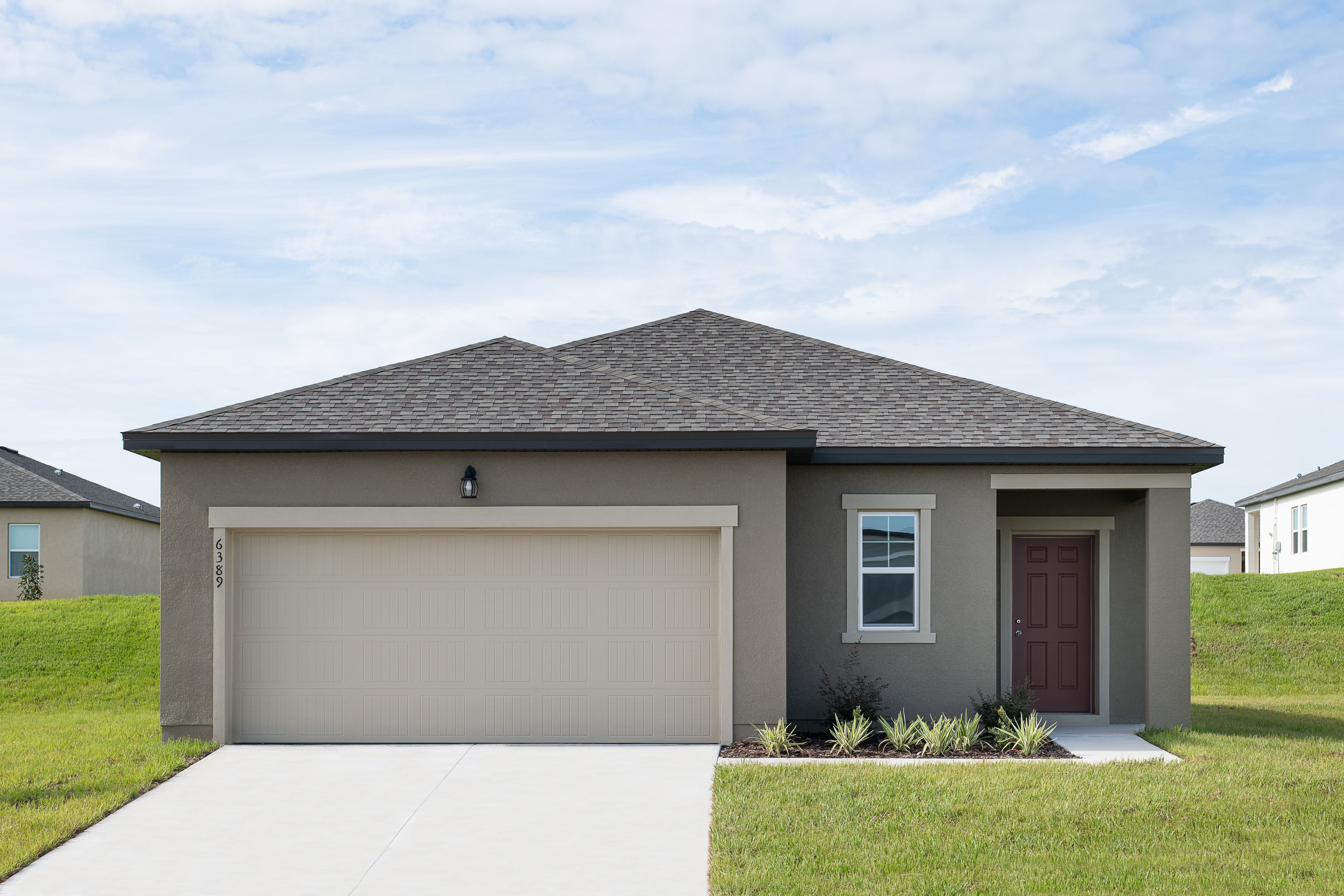 Exterior featured in the Glimmer By Starlight Homes in Orlando, FL