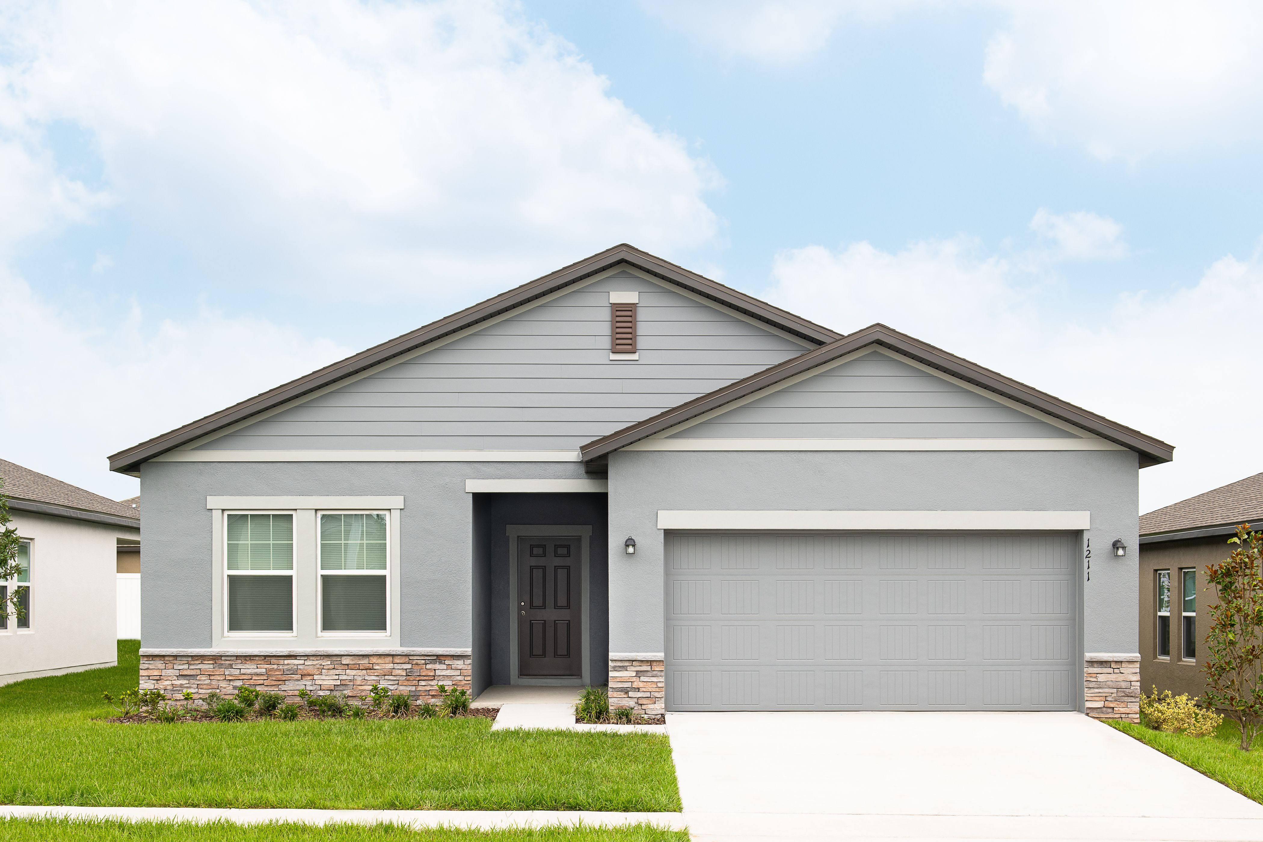 Exterior featured in the Luna By Starlight Homes in Lakeland-Winter Haven, FL