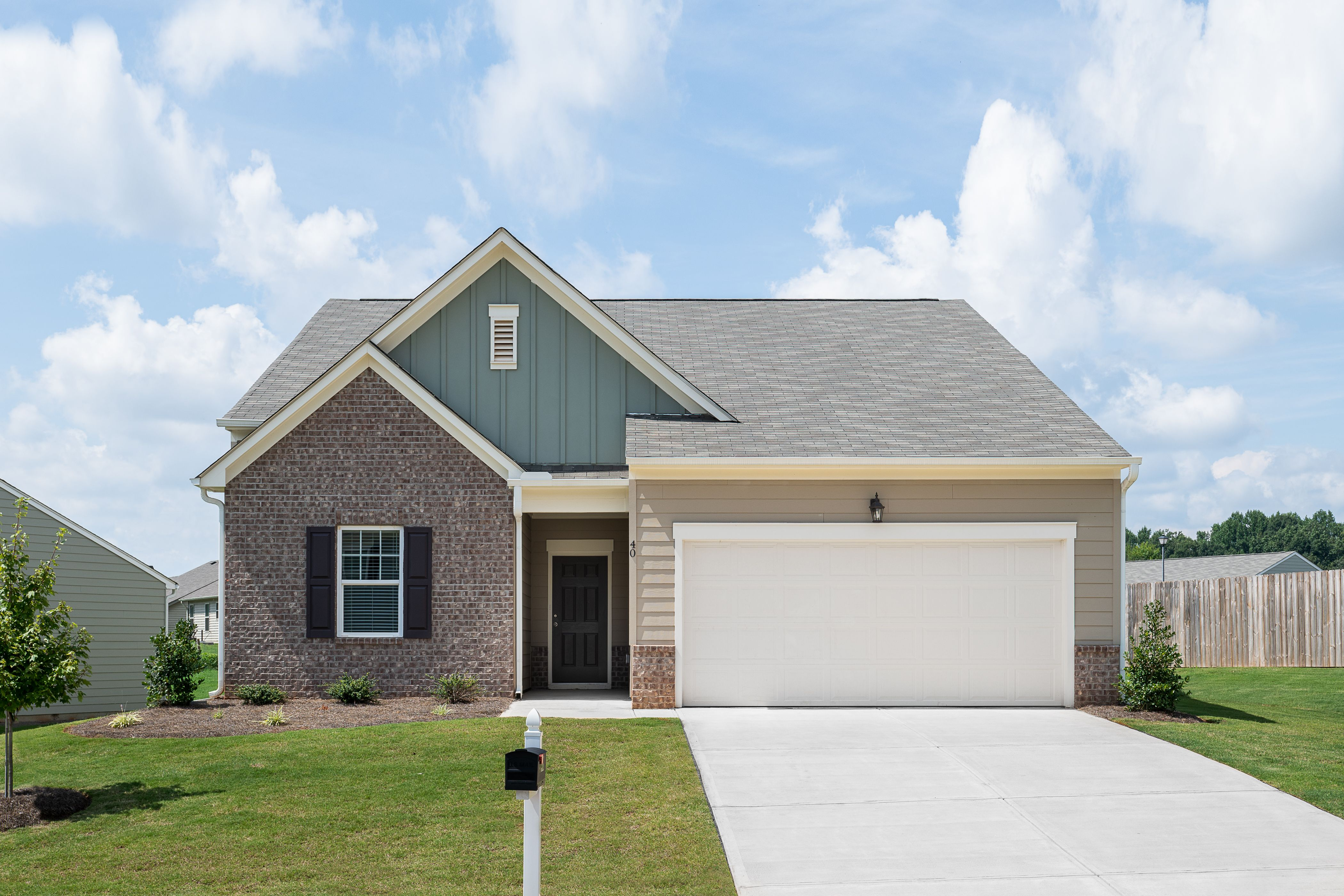 Exterior featured in the Firefly By Starlight Homes in Atlanta, GA