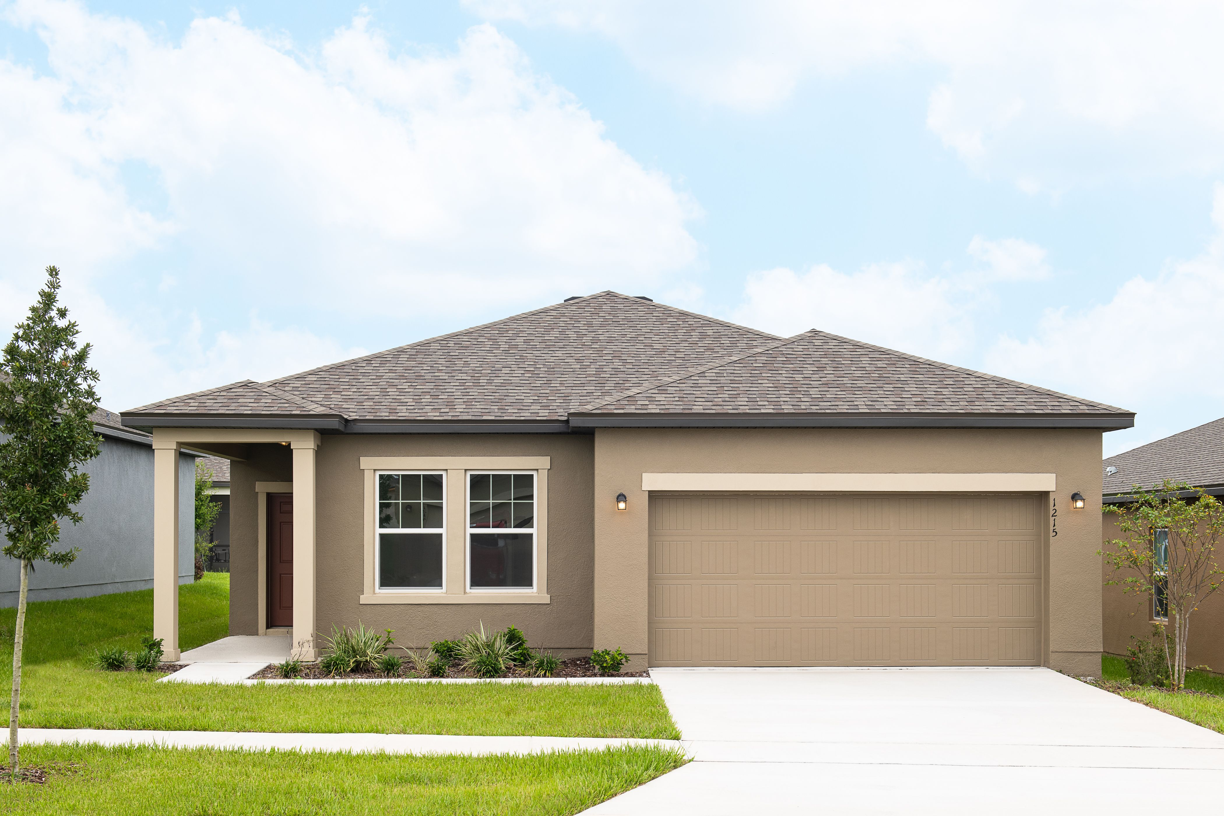 Exterior featured in the Larissa By Starlight Homes in Lakeland-Winter Haven, FL