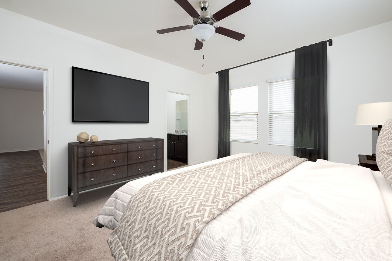 Bedroom featured in the Larissa By Starlight Homes in Austin, TX